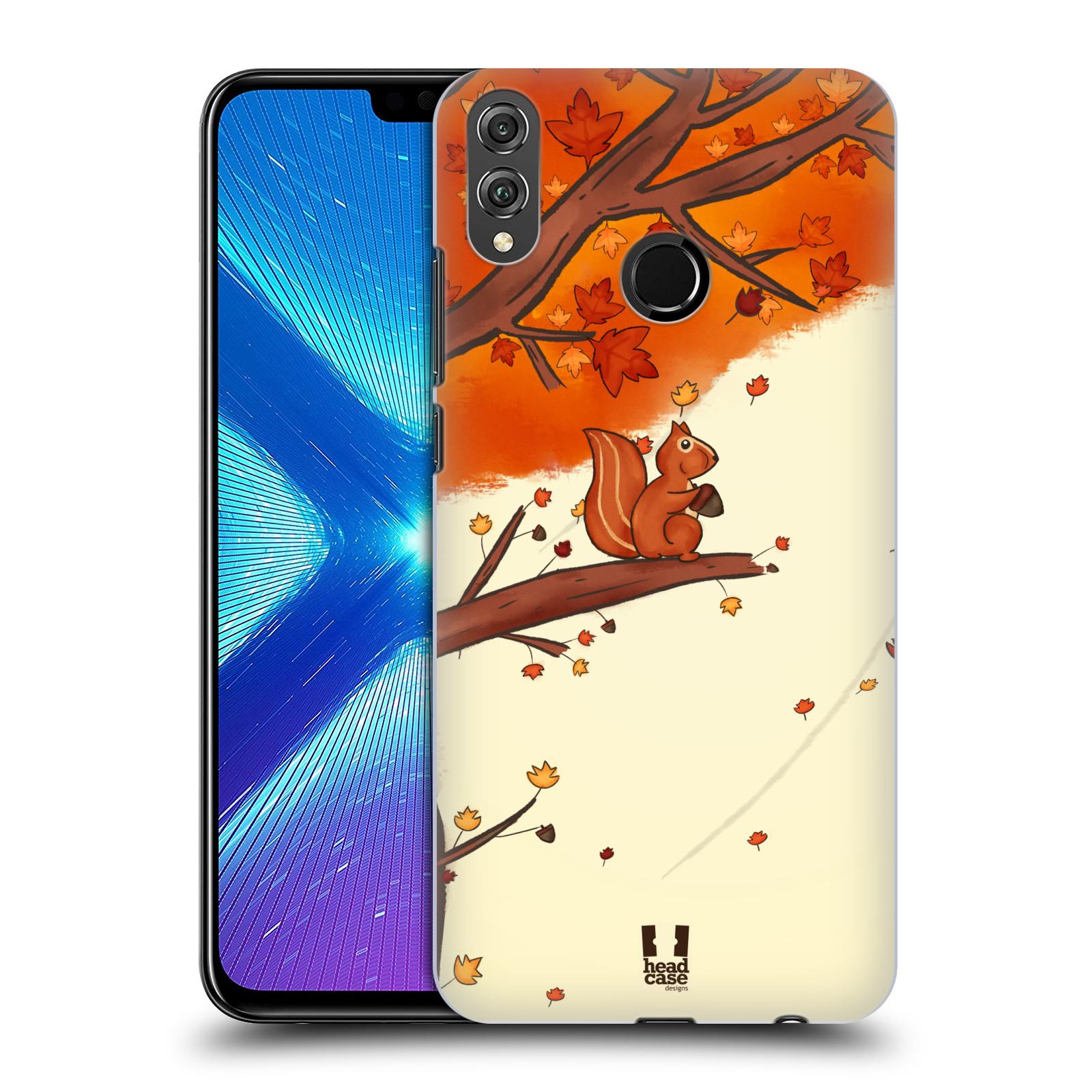 Plastové pouzdro na mobil Honor 8X - Head Case - PODZIMNÍ VEVERKA