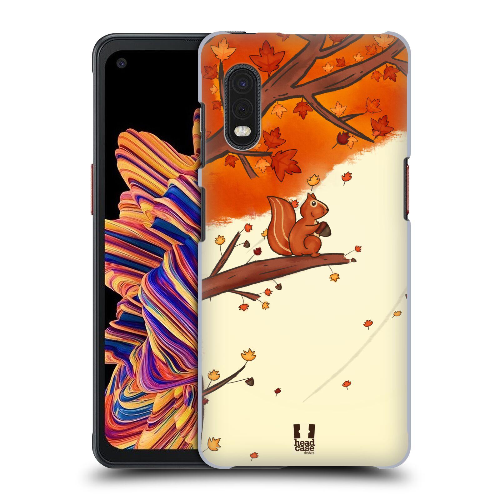 Plastové pouzdro na mobil Samsung Galaxy Xcover Pro - Head Case - PODZIMNÍ VEVERKA
