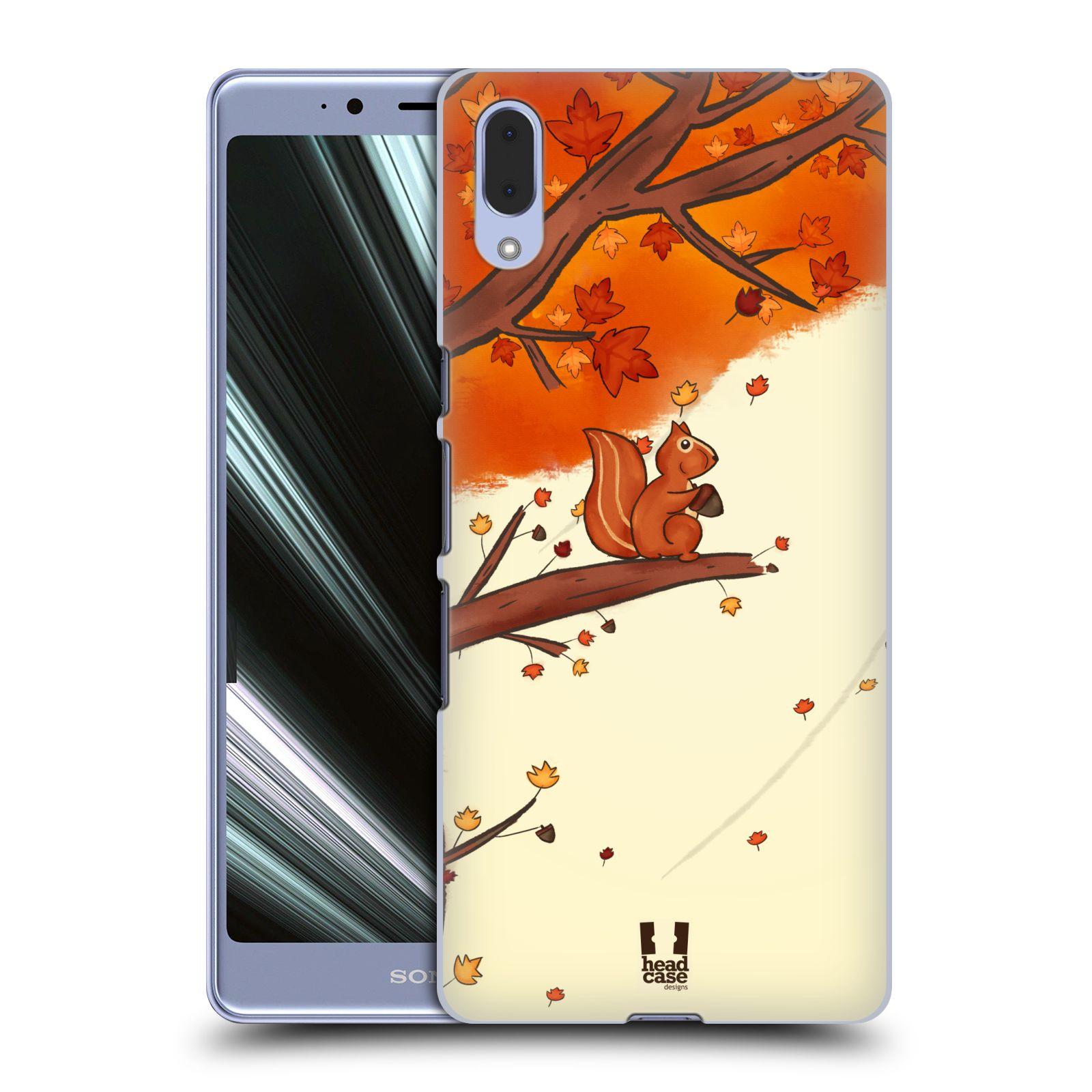 Plastové pouzdro na mobil Sony Xperia L3 - Head Case - PODZIMNÍ VEVERKA