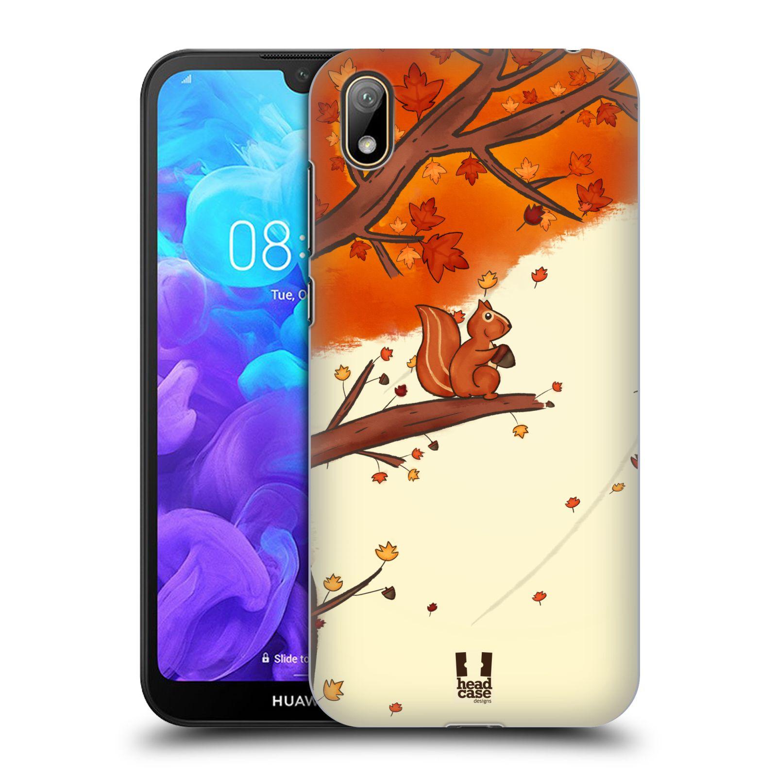 Plastové pouzdro na mobil Honor 8S - Head Case - PODZIMNÍ VEVERKA