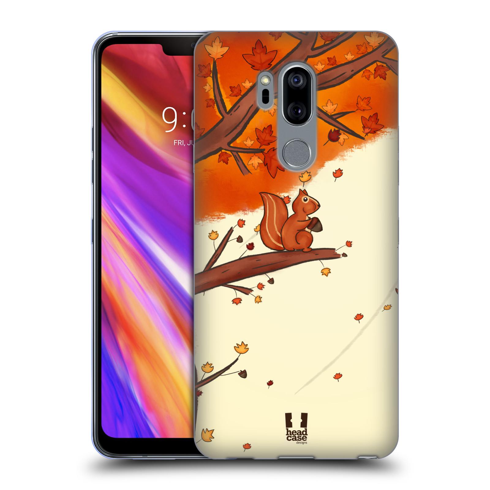 Silikonové pouzdro na mobil LG G7 ThinQ - Head Case - PODZIMNÍ VEVERKA