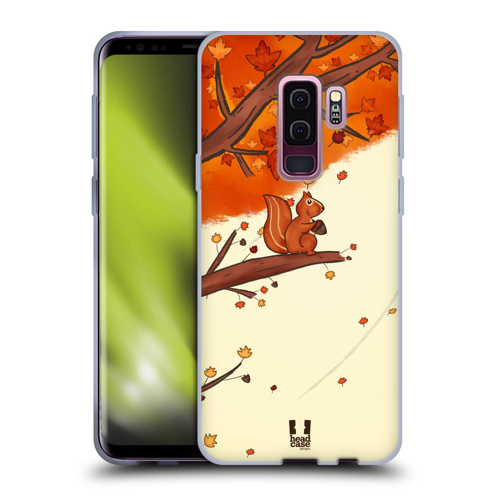 Silikonové pouzdro na mobil Samsung Galaxy S9 Plus - Head Case - PODZIMNÍ VEVERKA