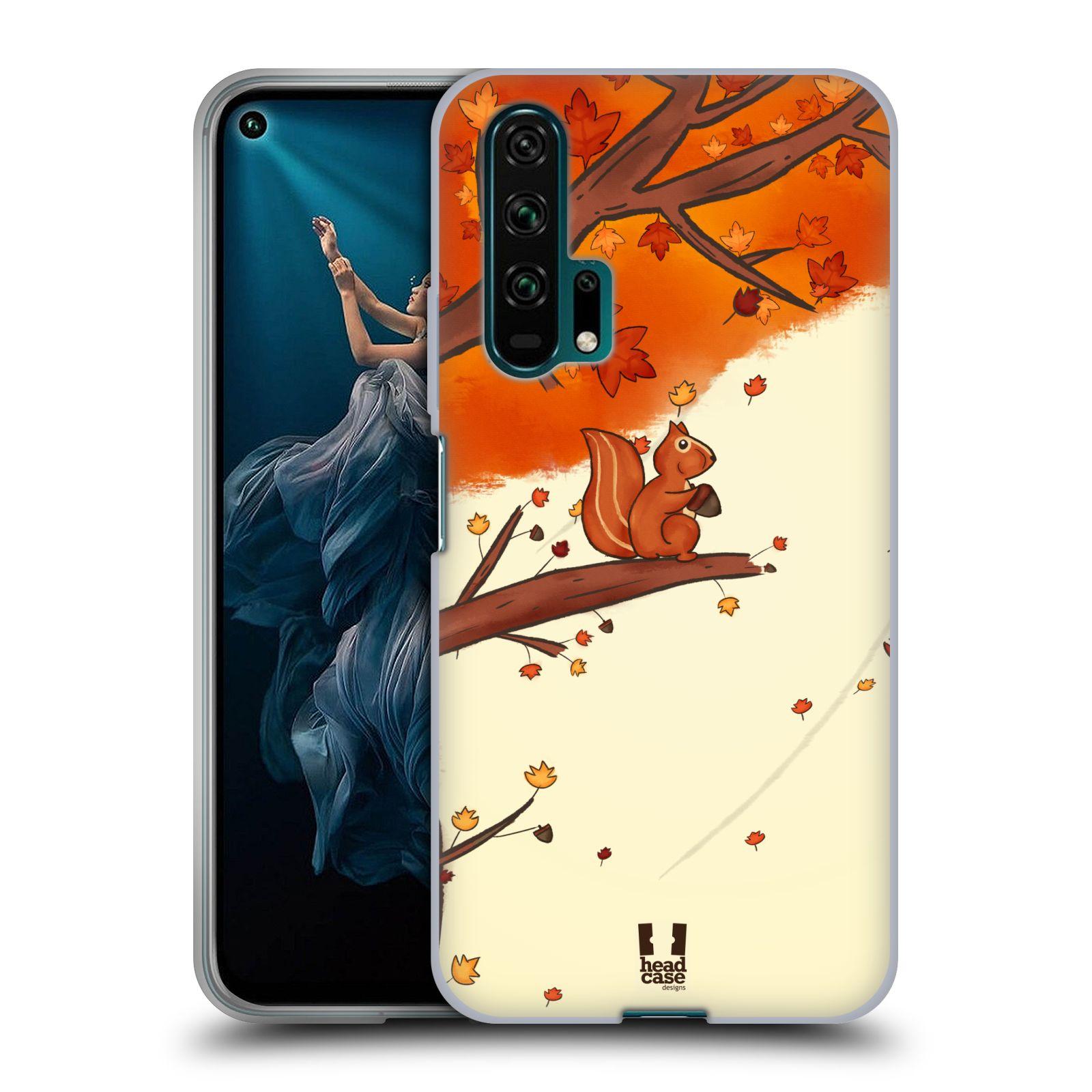 Silikonové pouzdro na mobil Honor 20 Pro - Head Case - PODZIMNÍ VEVERKA