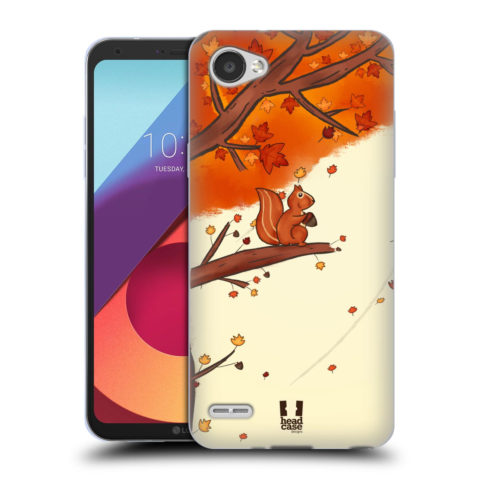 Silikonové pouzdro na mobil LG Q6 - Head Case - PODZIMNÍ VEVERKA