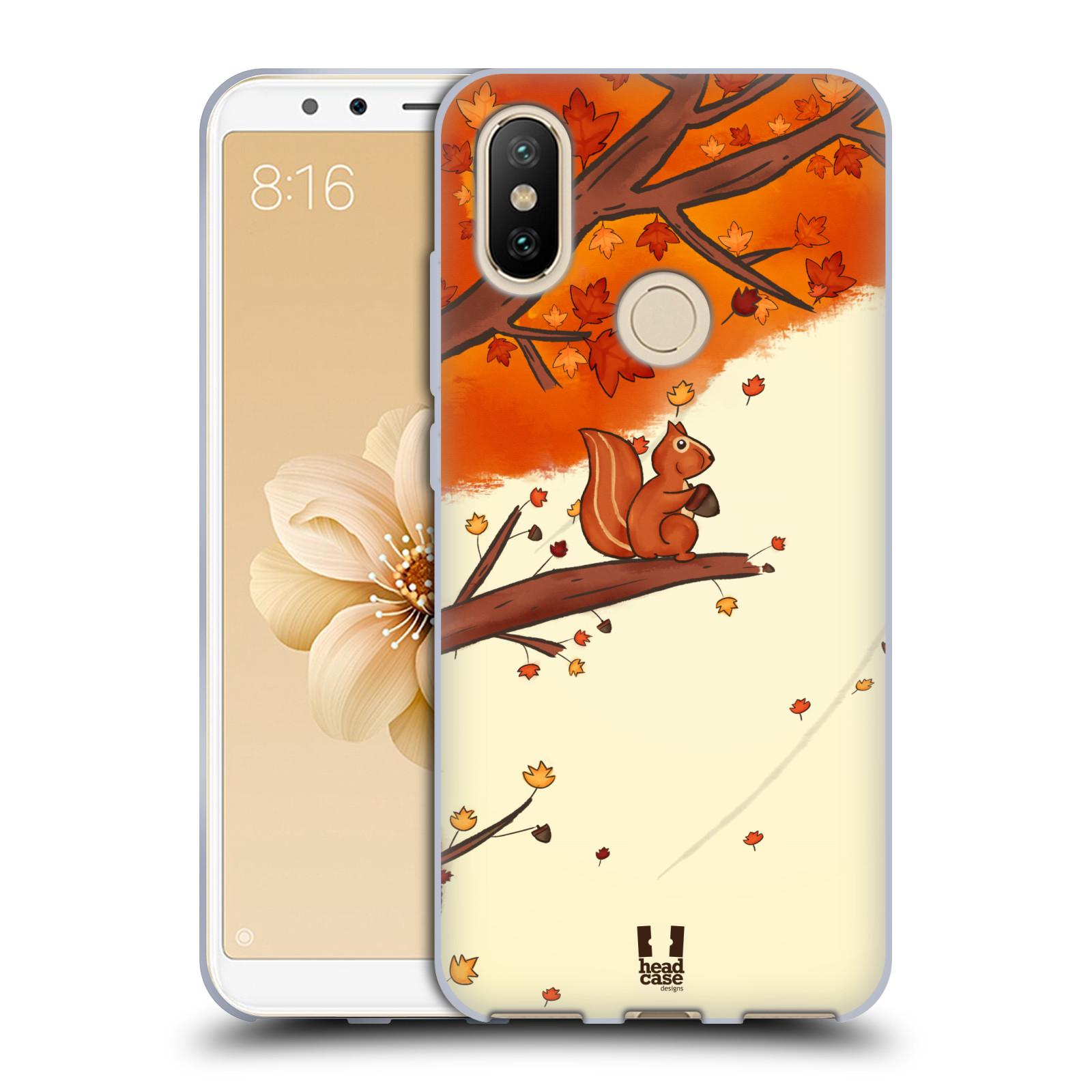 Silikonové pouzdro na mobil Xiaomi Mi A2 - Head Case - PODZIMNÍ VEVERKA