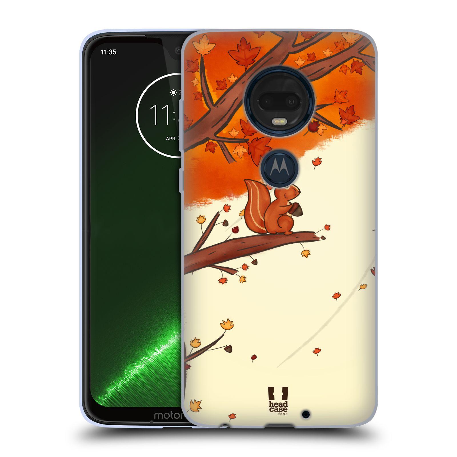 Silikonové pouzdro na mobil Motorola Moto G7 Plus - Head Case - PODZIMNÍ VEVERKA