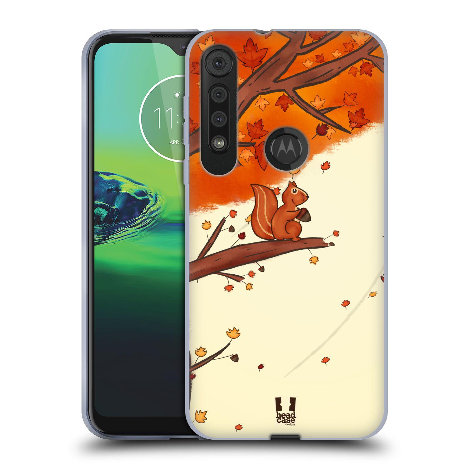 Silikonové pouzdro na mobil Motorola One Macro - Head Case - PODZIMNÍ VEVERKA