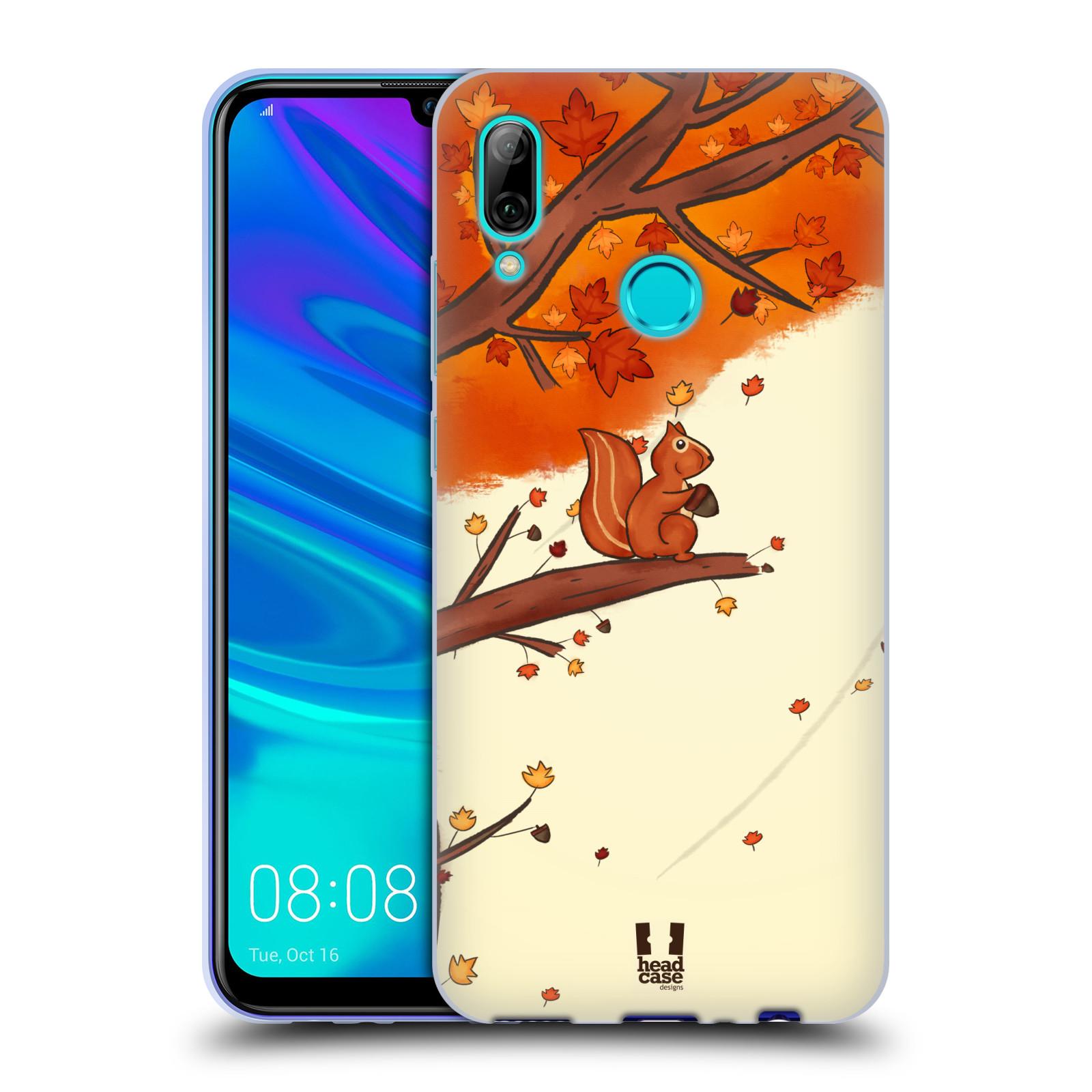 Silikonové pouzdro na mobil Huawei P Smart (2019) - Head Case - PODZIMNÍ VEVERKA