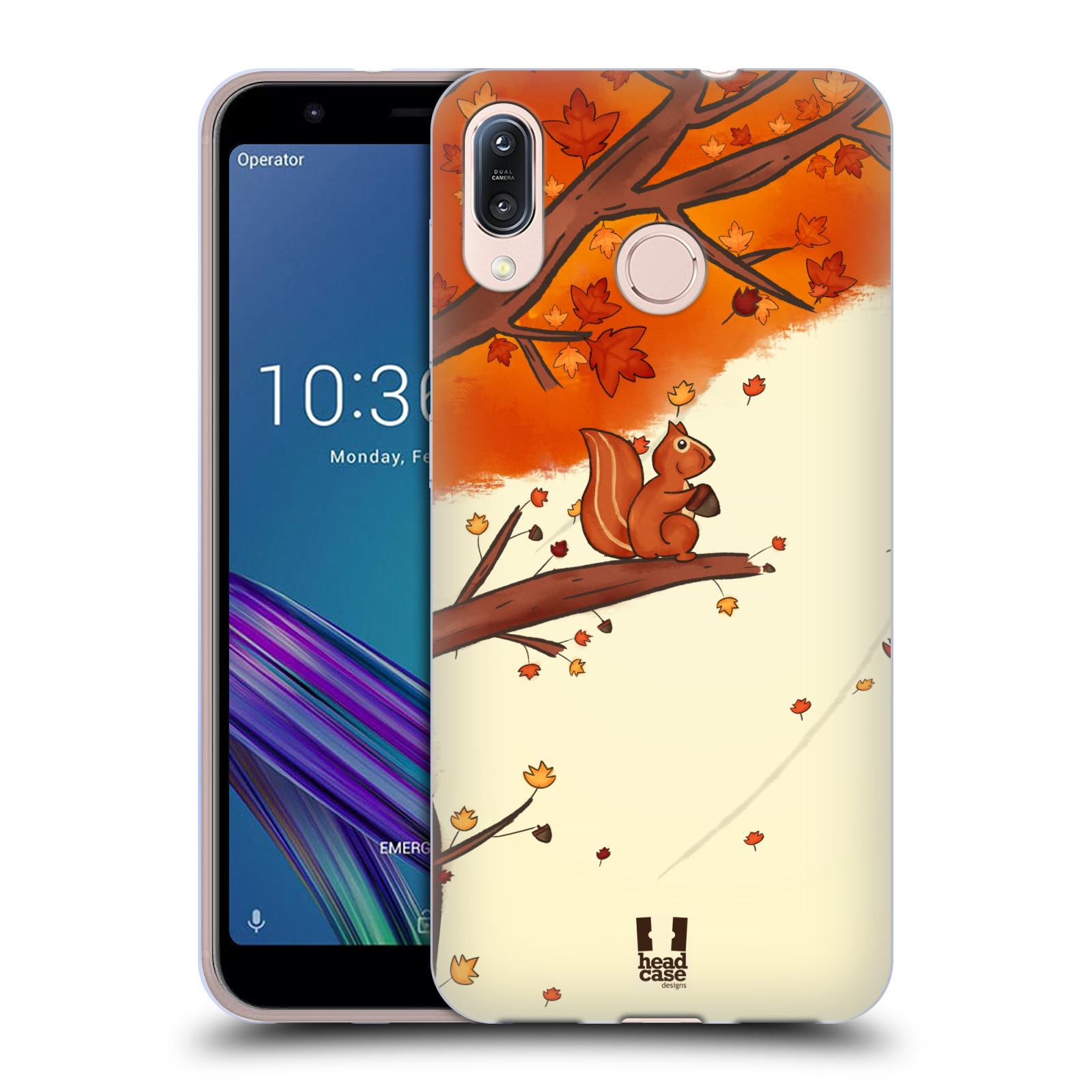 Silikonové pouzdro na mobil Asus Zenfone Max M1 ZB555KL - Head Case - PODZIMNÍ VEVERKA