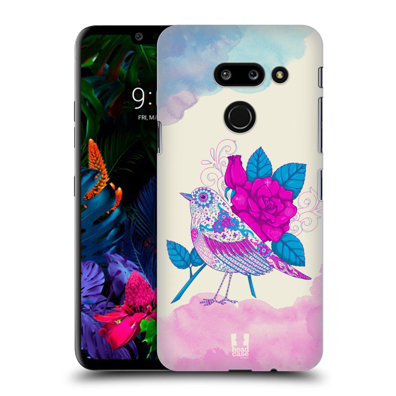 Plastové pouzdro na mobil LG G8 ThinQ - Head Case - PTÁČEK FUCHSIA