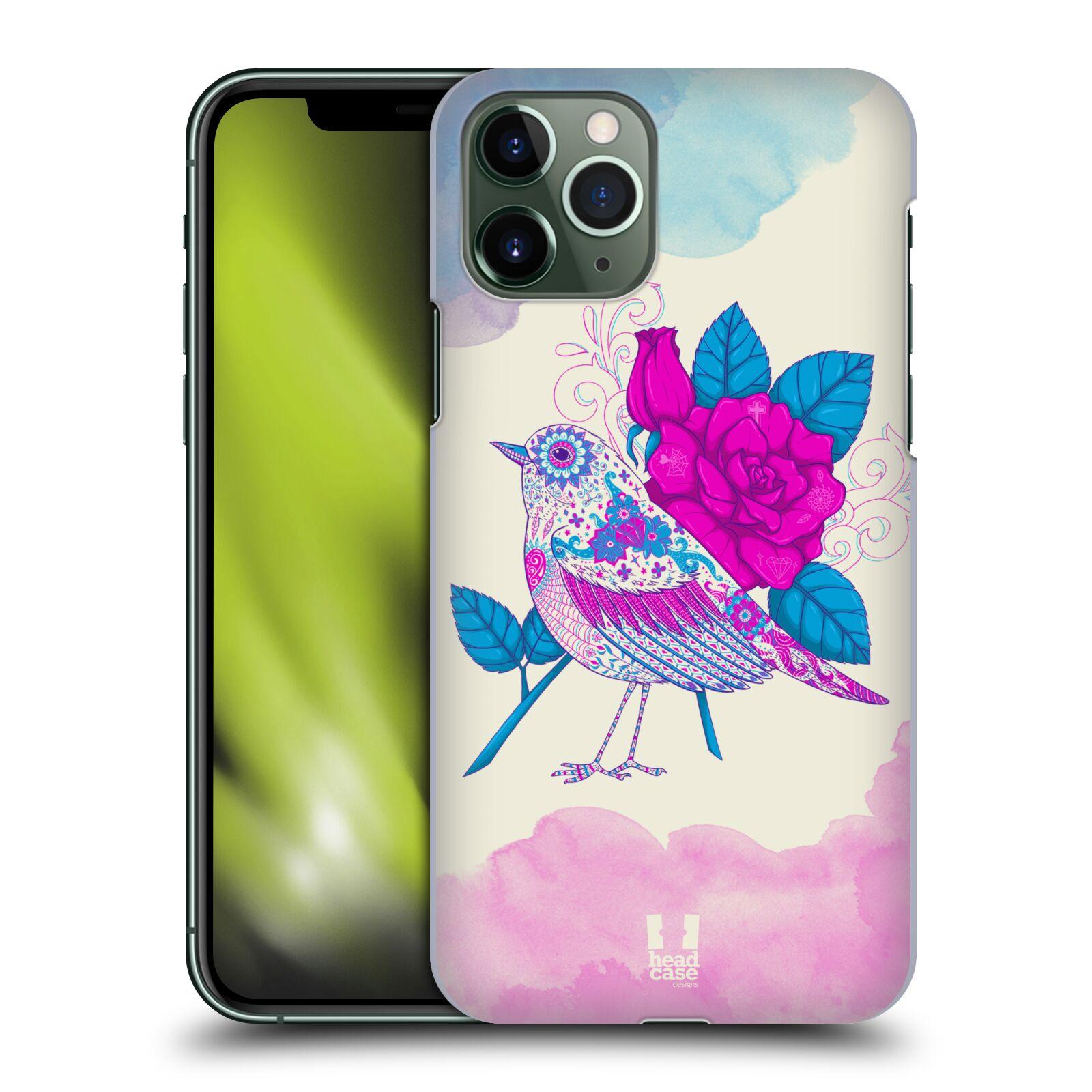Plastové pouzdro na mobil Apple iPhone 11 Pro - Head Case - PTÁČEK FUCHSIA