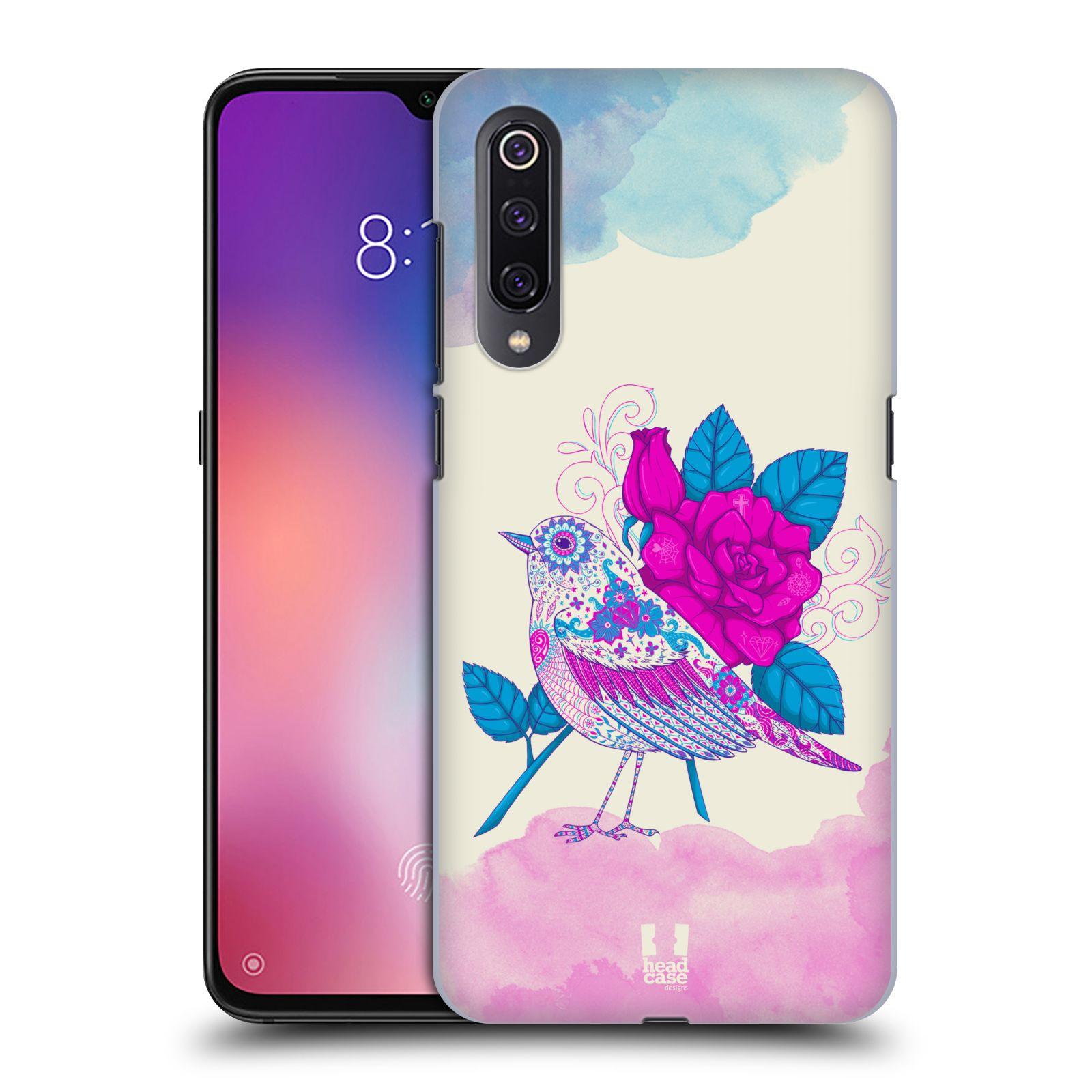 Plastové pouzdro na mobil Xiaomi Mi 9 - Head Case - PTÁČEK FUCHSIA