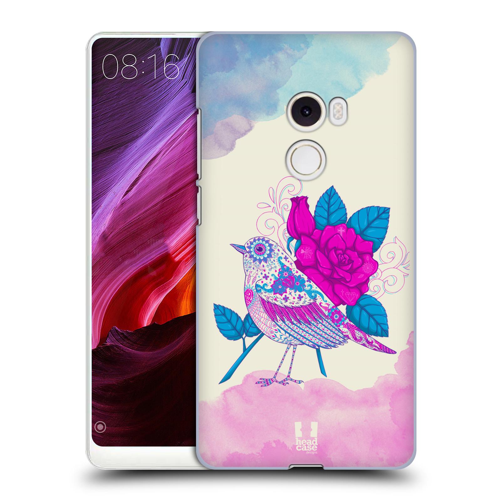 Plastové pouzdro na mobil Xiaomi Mi Mix 2 - Head Case - PTÁČEK FUCHSIA