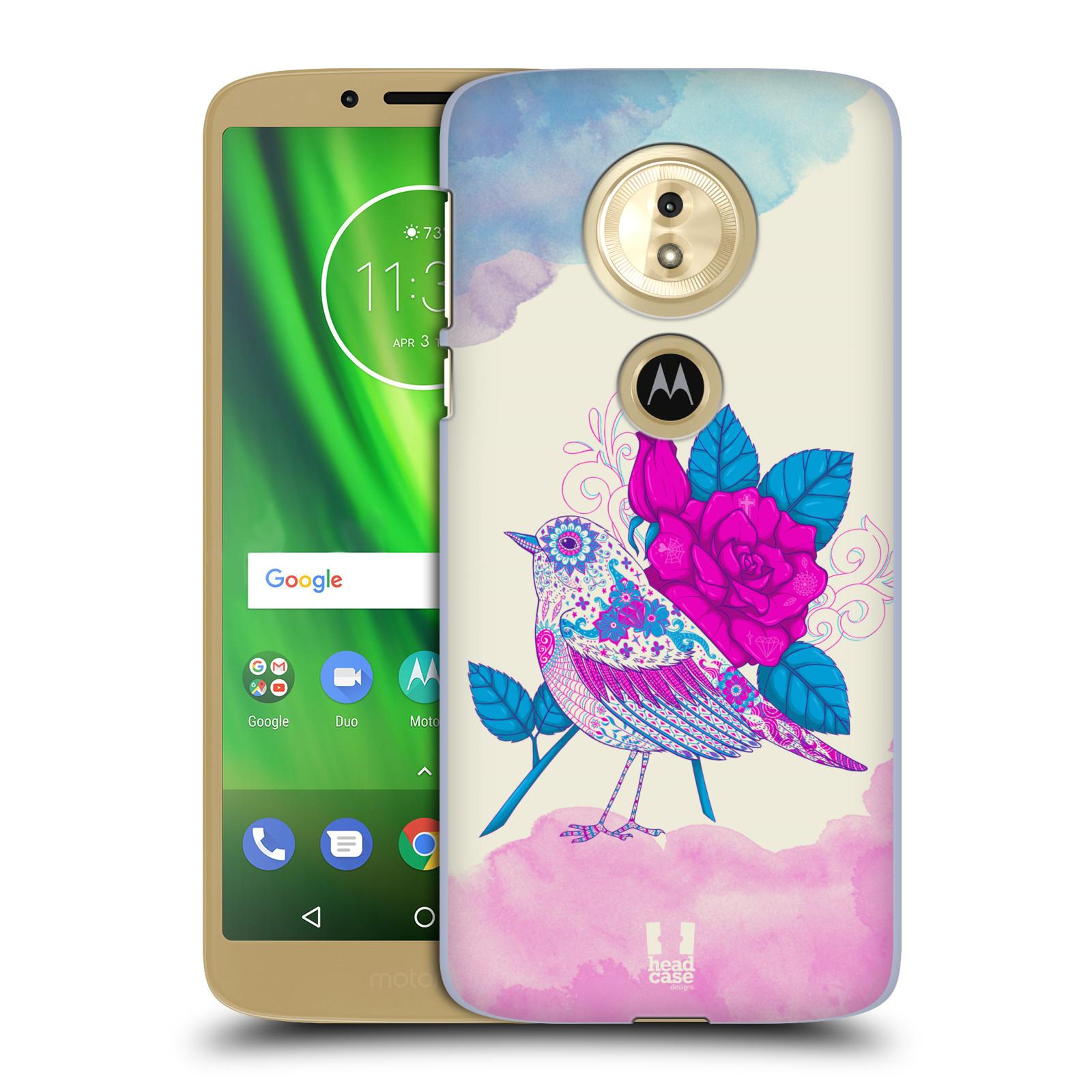 Plastové pouzdro na mobil Motorola Moto G6 Play - Head Case - PTÁČEK FUCHSIA