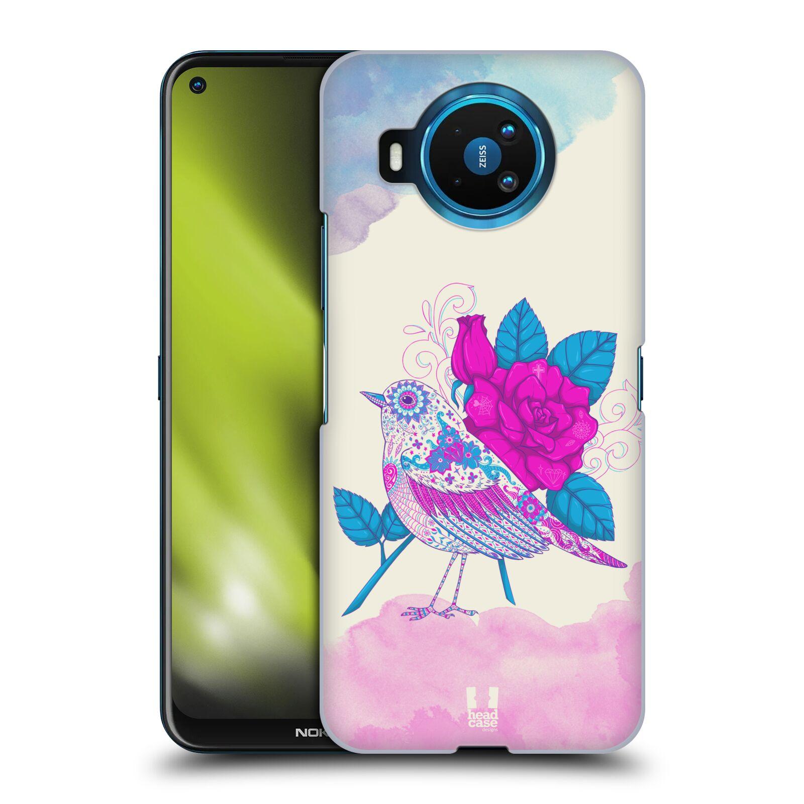 Plastové pouzdro na mobil Nokia 8.3 5G - Head Case - PTÁČEK FUCHSIA