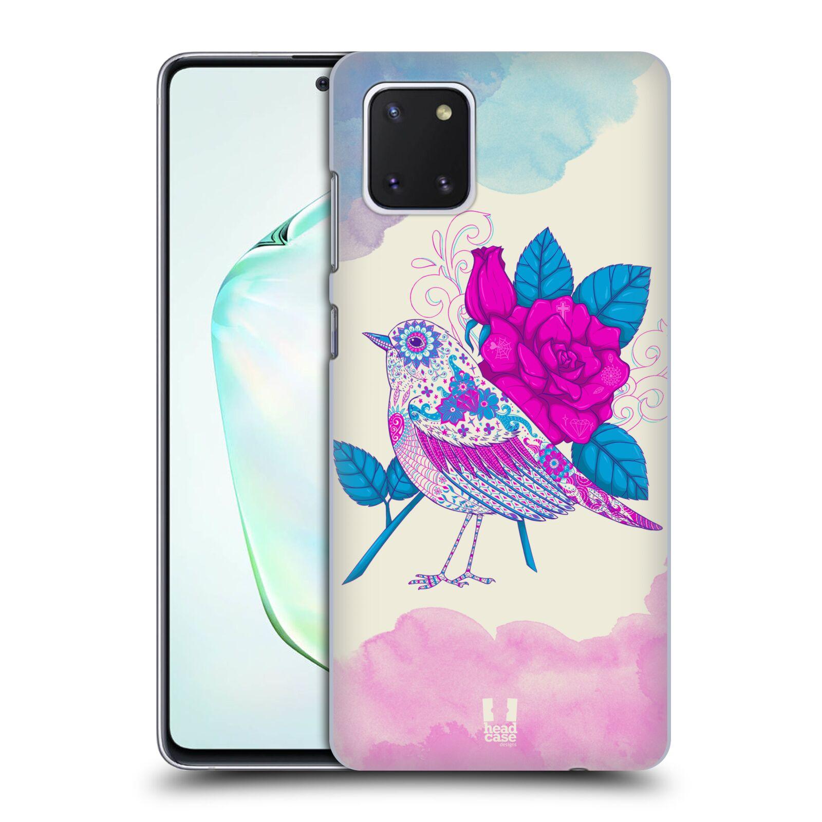 Plastové pouzdro na mobil Samsung Galaxy Note 10 Lite - Head Case - PTÁČEK FUCHSIA