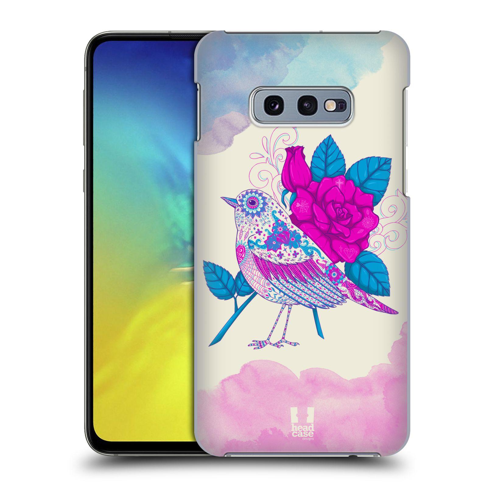 Plastové pouzdro na mobil Samsung Galaxy S10e - Head Case - PTÁČEK FUCHSIA