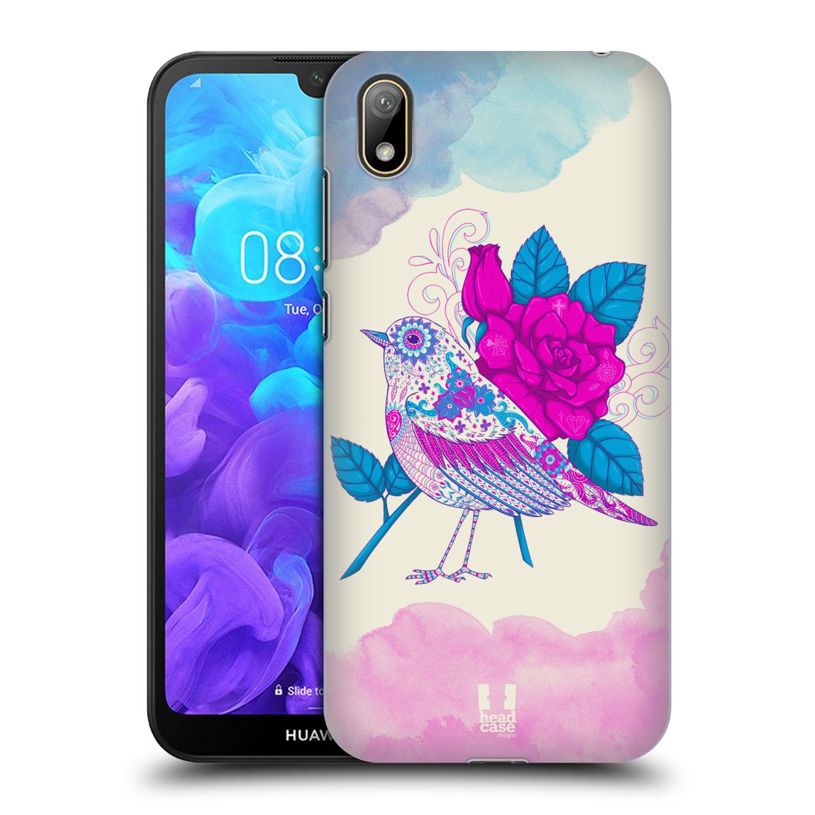 Plastové pouzdro na mobil Honor 8S - Head Case - PTÁČEK FUCHSIA