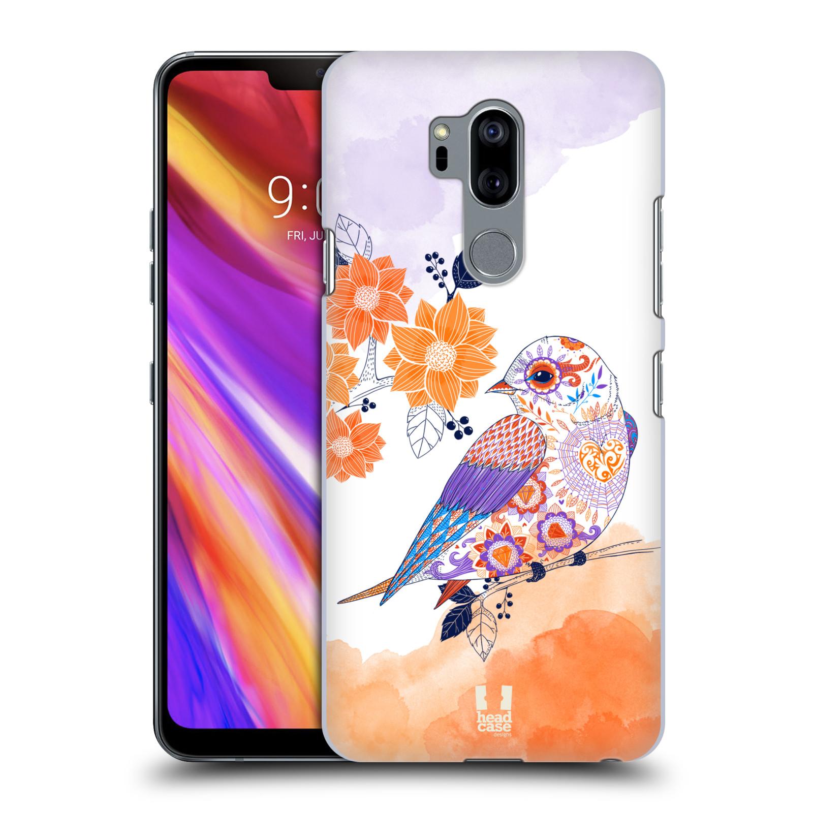 Plastové pouzdro na mobil LG G7 ThinQ - Head Case - PTÁČEK TANGERINE