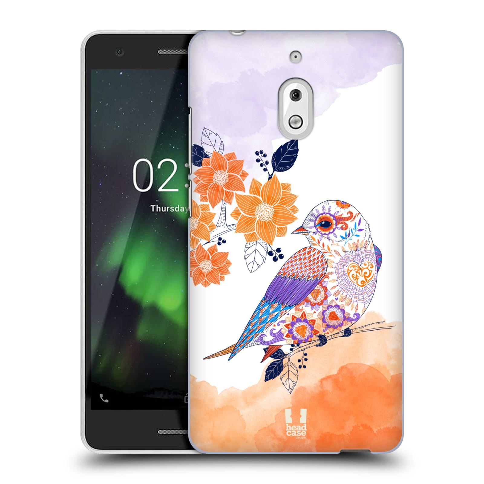 Plastové pouzdro na mobil Nokia 2.1 - Head Case - PTÁČEK TANGERINE