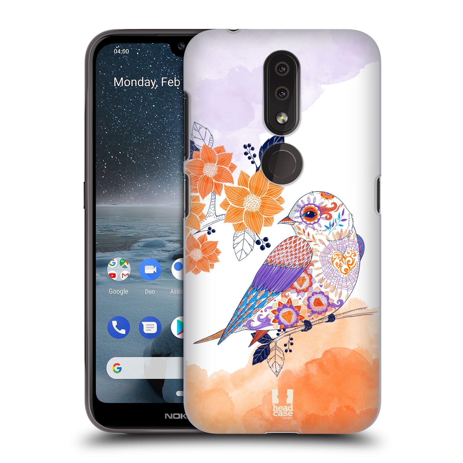 Plastové pouzdro na mobil Nokia 4.2 - Head Case - PTÁČEK TANGERINE