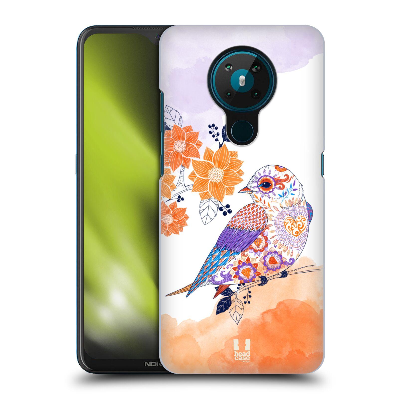 Plastové pouzdro na mobil Nokia 5.3 - Head Case - PTÁČEK TANGERINE