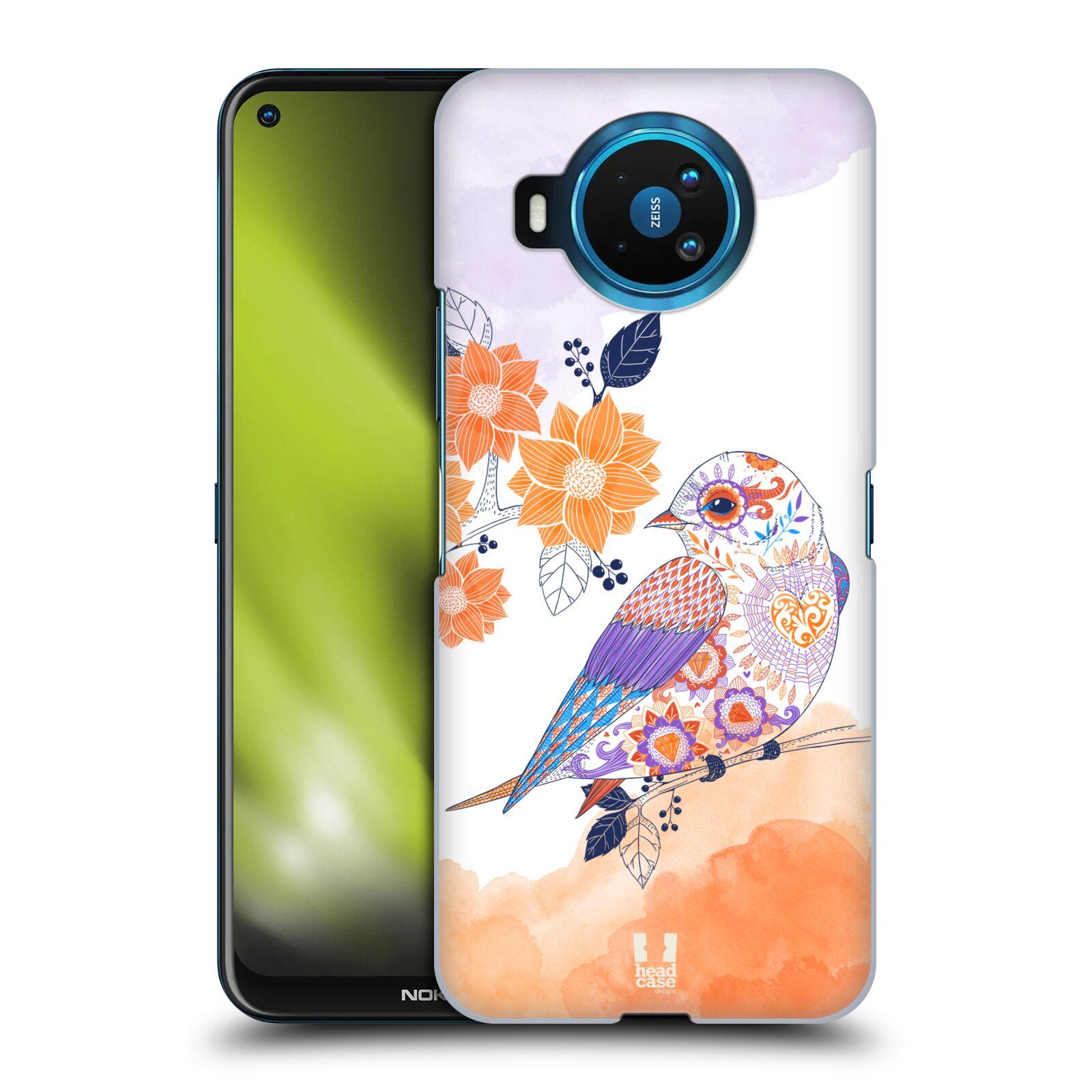 Plastové pouzdro na mobil Nokia 8.3 5G - Head Case - PTÁČEK TANGERINE