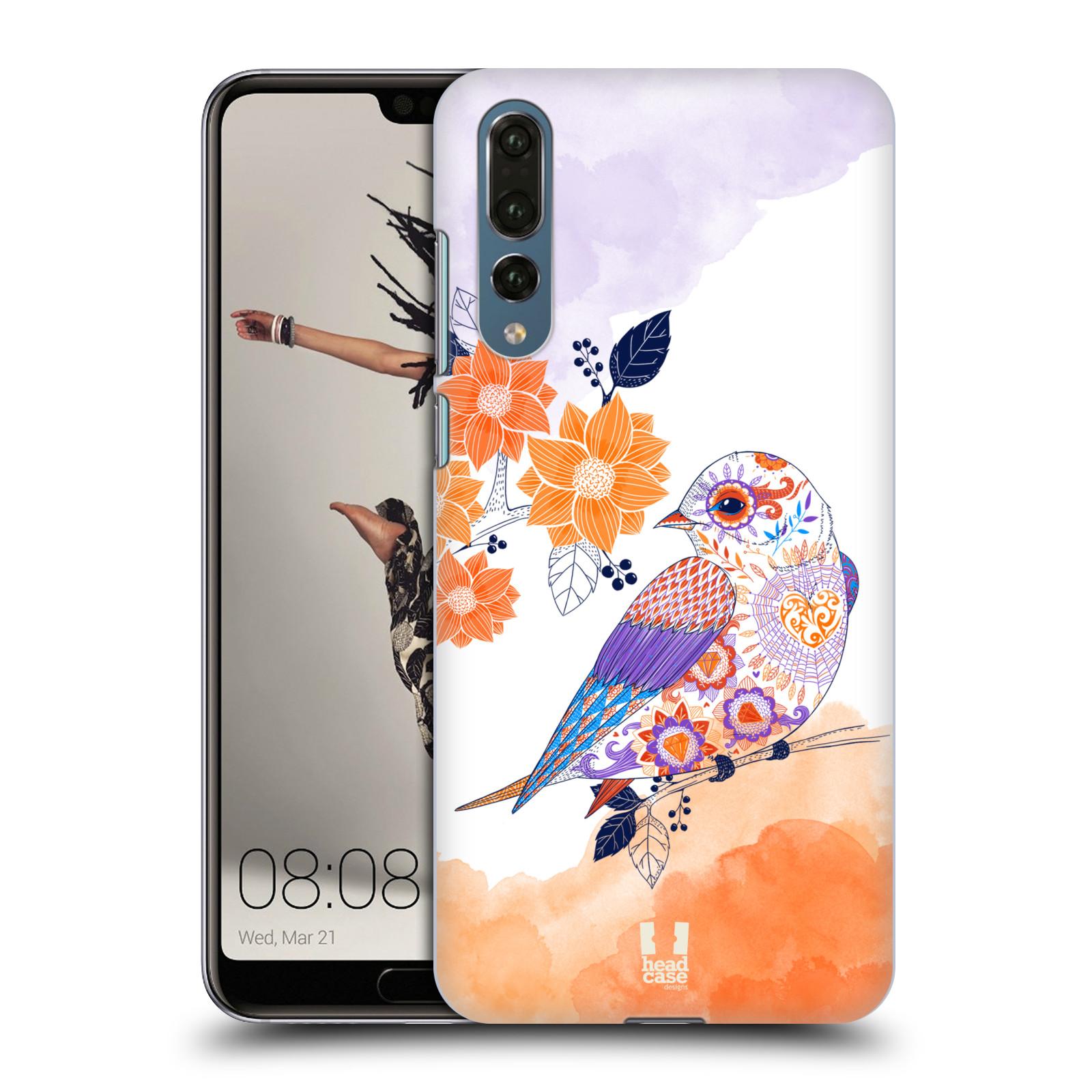 Plastové pouzdro na mobil Huawei P20 Pro - Head Case - PTÁČEK TANGERINE