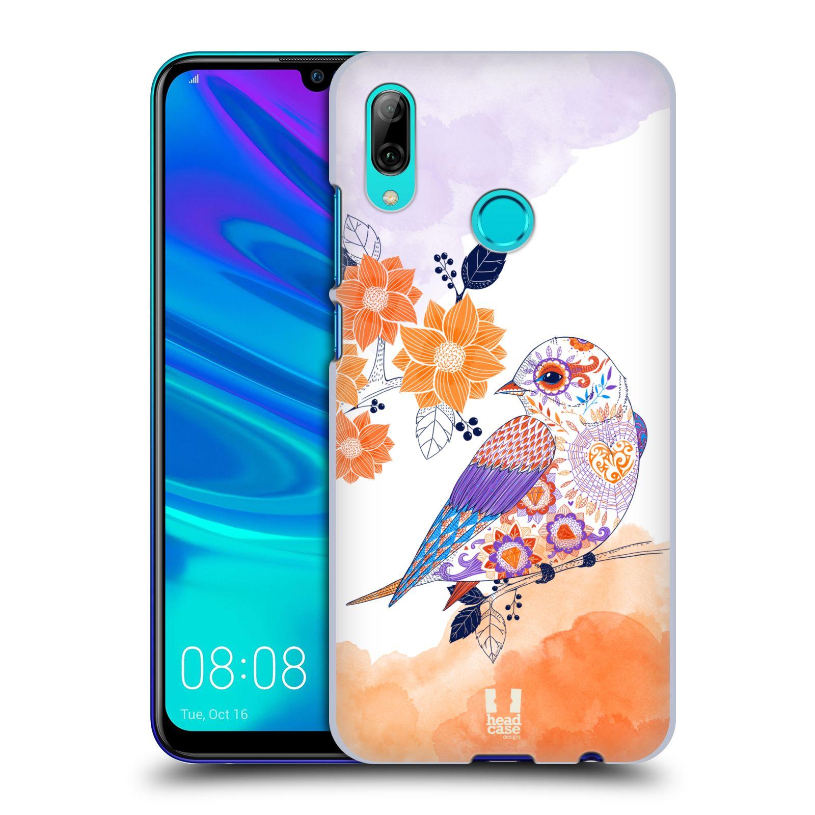 Plastové pouzdro na mobil Honor 10 Lite - Head Case - PTÁČEK TANGERINE