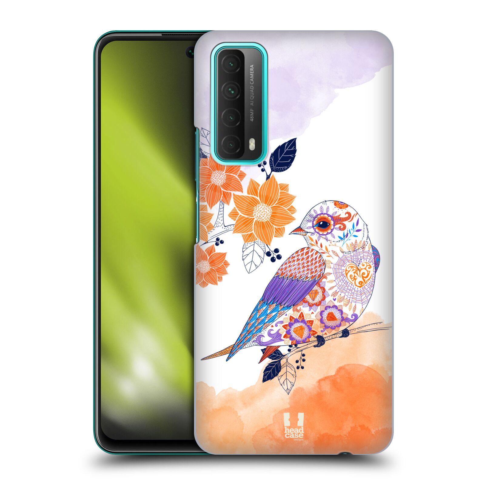 Plastové pouzdro na mobil Huawei P Smart (2021) - Head Case - PTÁČEK TANGERINE