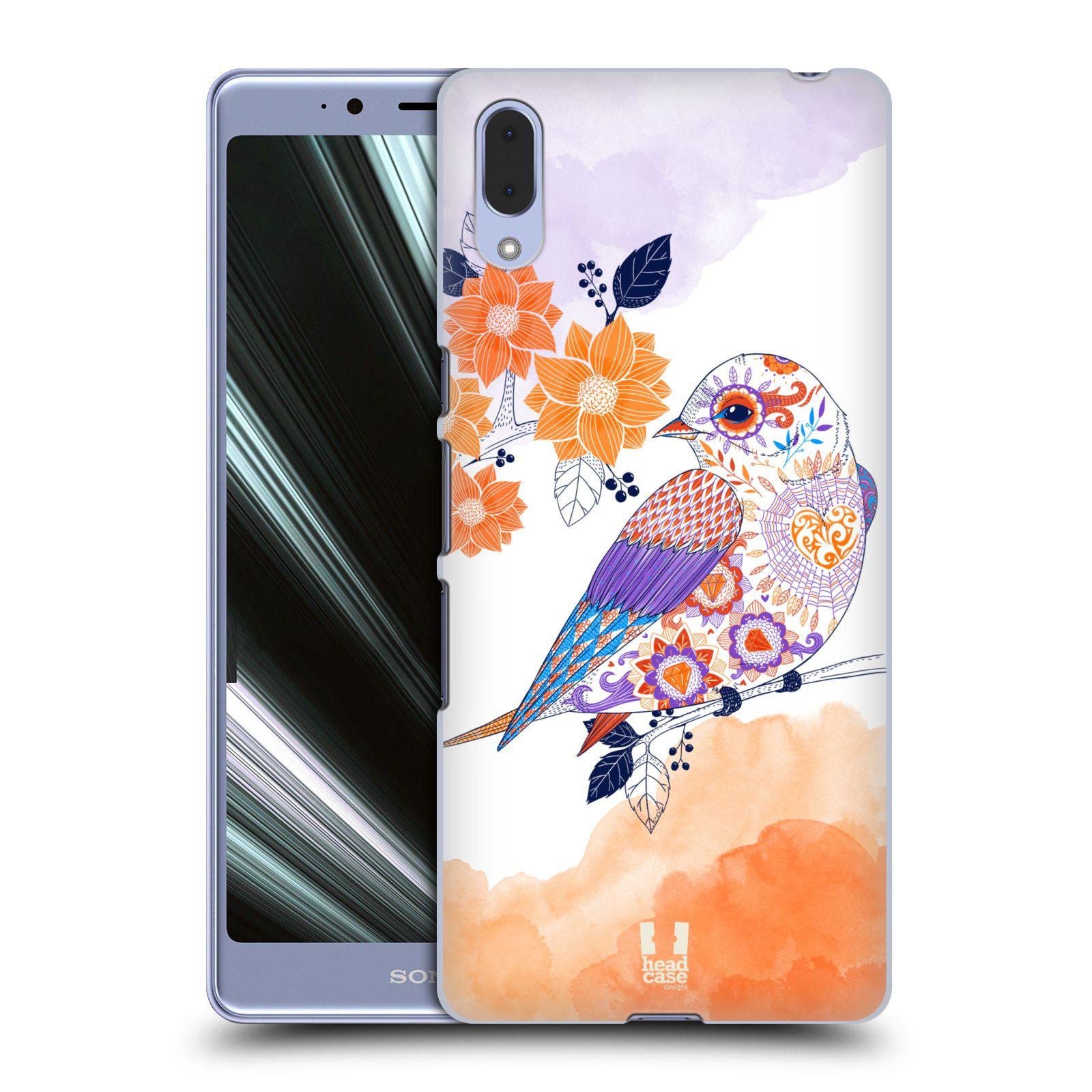 Plastové pouzdro na mobil Sony Xperia L3 - Head Case - PTÁČEK TANGERINE