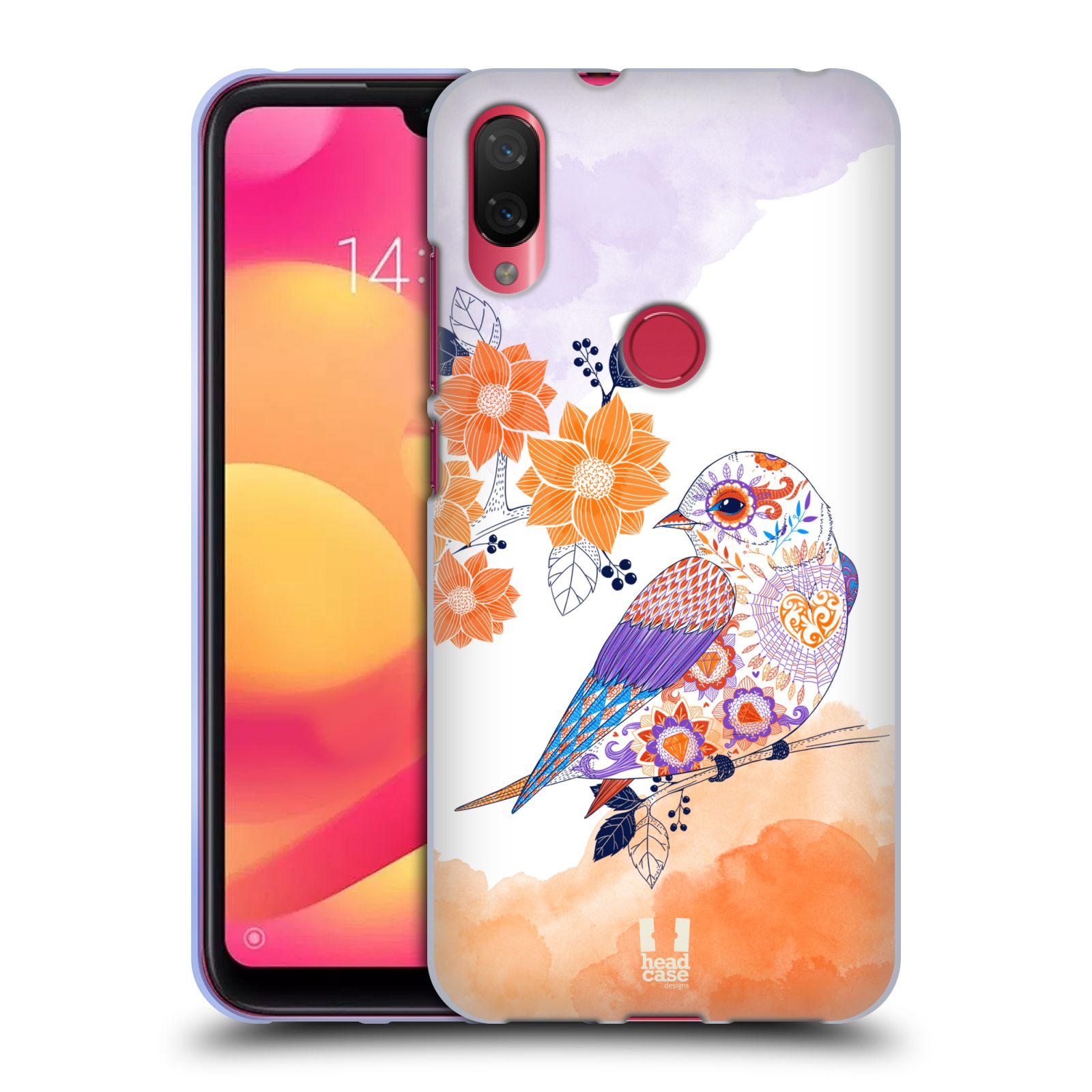 Silikonové pouzdro na mobil Xiaomi Mi Play - Head Case - PTÁČEK TANGERINE