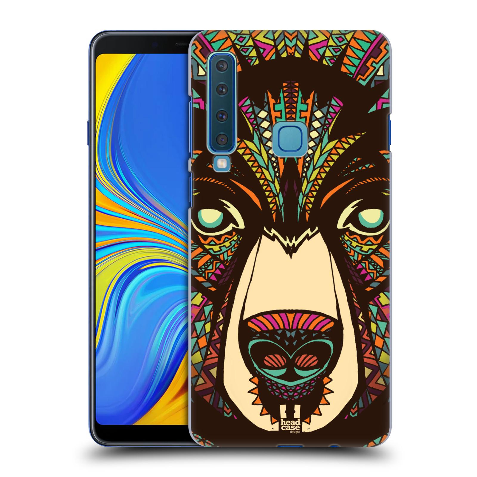 Plastové pouzdro na mobil Samsung Galaxy A9 (2018) - Head Case - AZTEC MEDVĚD
