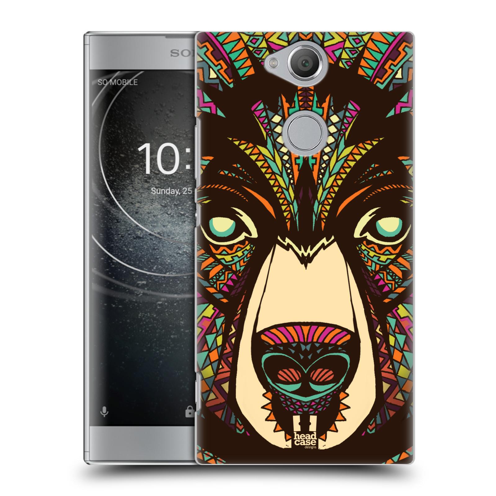 Plastové pouzdro na mobil Sony Xperia XA2 - Head Case - AZTEC MEDVĚD