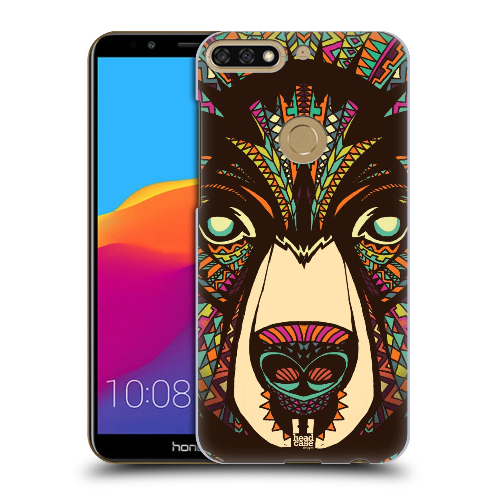 Plastové pouzdro na mobil Huawei Y7 Prime 2018 - Head Case - AZTEC MEDVĚD