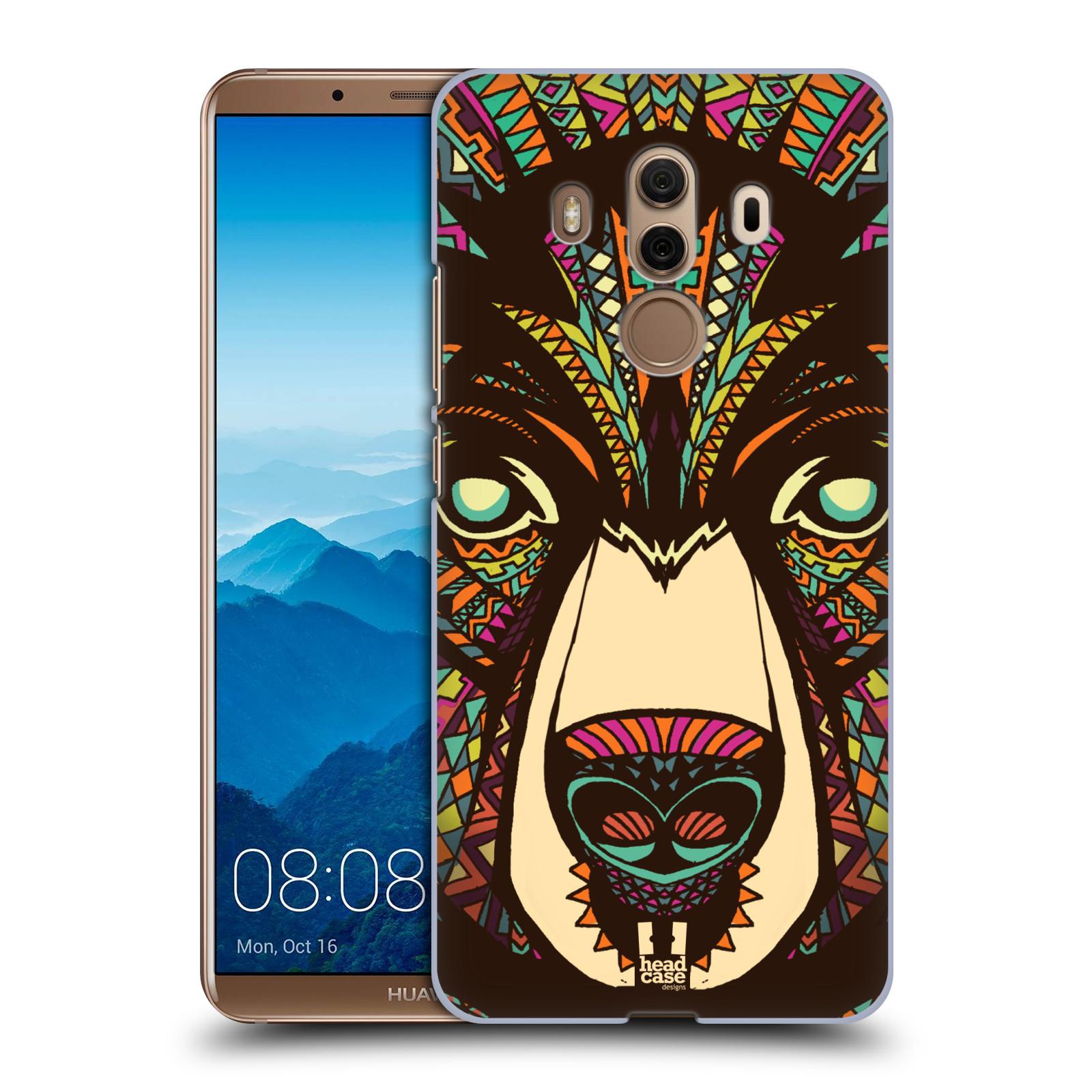 Plastové pouzdro na mobil Huawei Mate 10 Pro - Head Case - AZTEC MEDVĚD