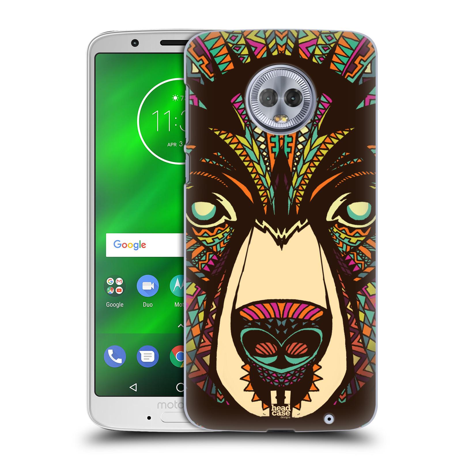 Plastové pouzdro na mobil Motorola Moto G6 Plus - Head Case - AZTEC MEDVĚD