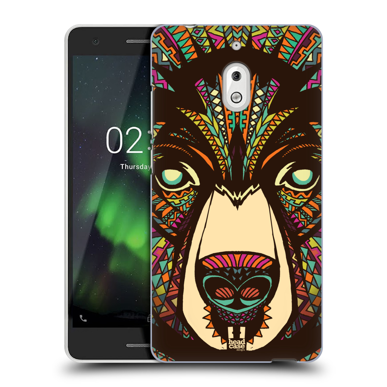 Plastové pouzdro na mobil Nokia 2.1 - Head Case - AZTEC MEDVĚD