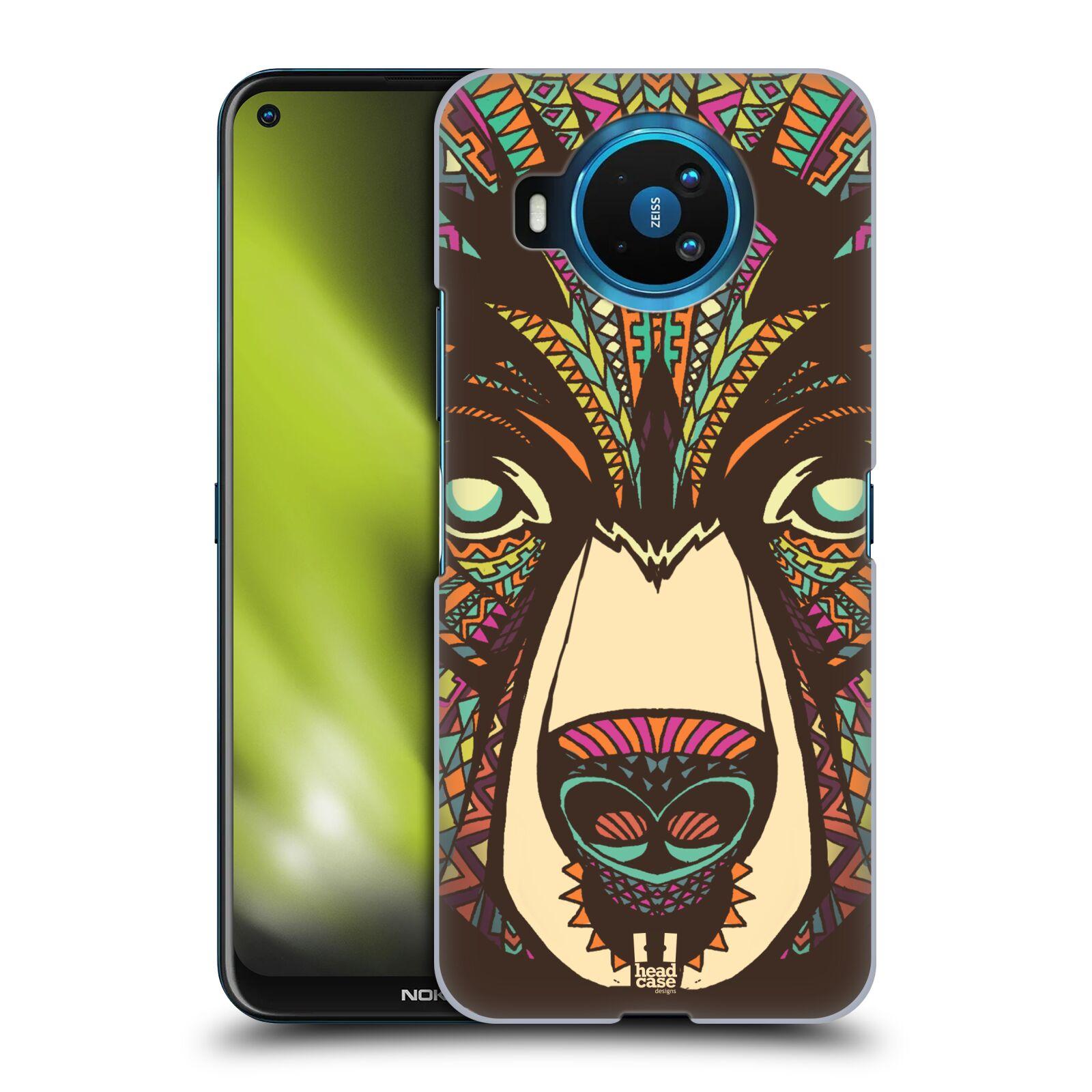 Plastové pouzdro na mobil Nokia 8.3 5G - Head Case - AZTEC MEDVĚD