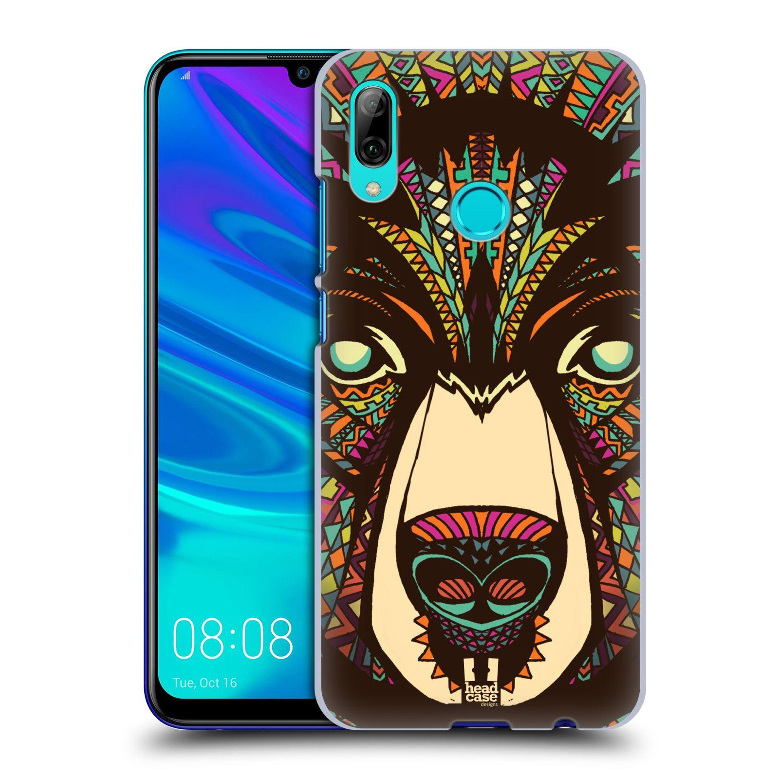 Plastové pouzdro na mobil Huawei P Smart (2019) - Head Case - AZTEC MEDVĚD