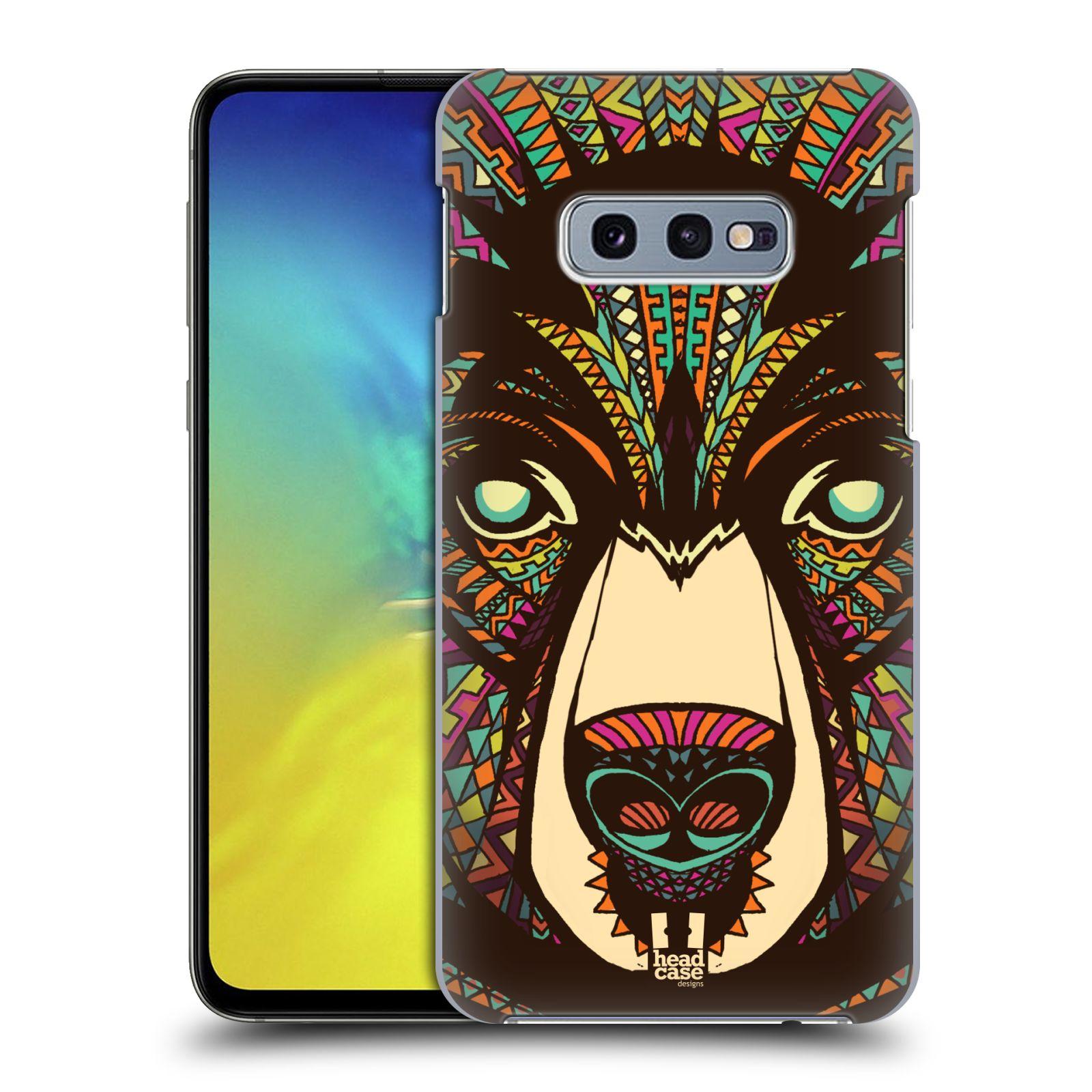 Plastové pouzdro na mobil Samsung Galaxy S10e - Head Case - AZTEC MEDVĚD