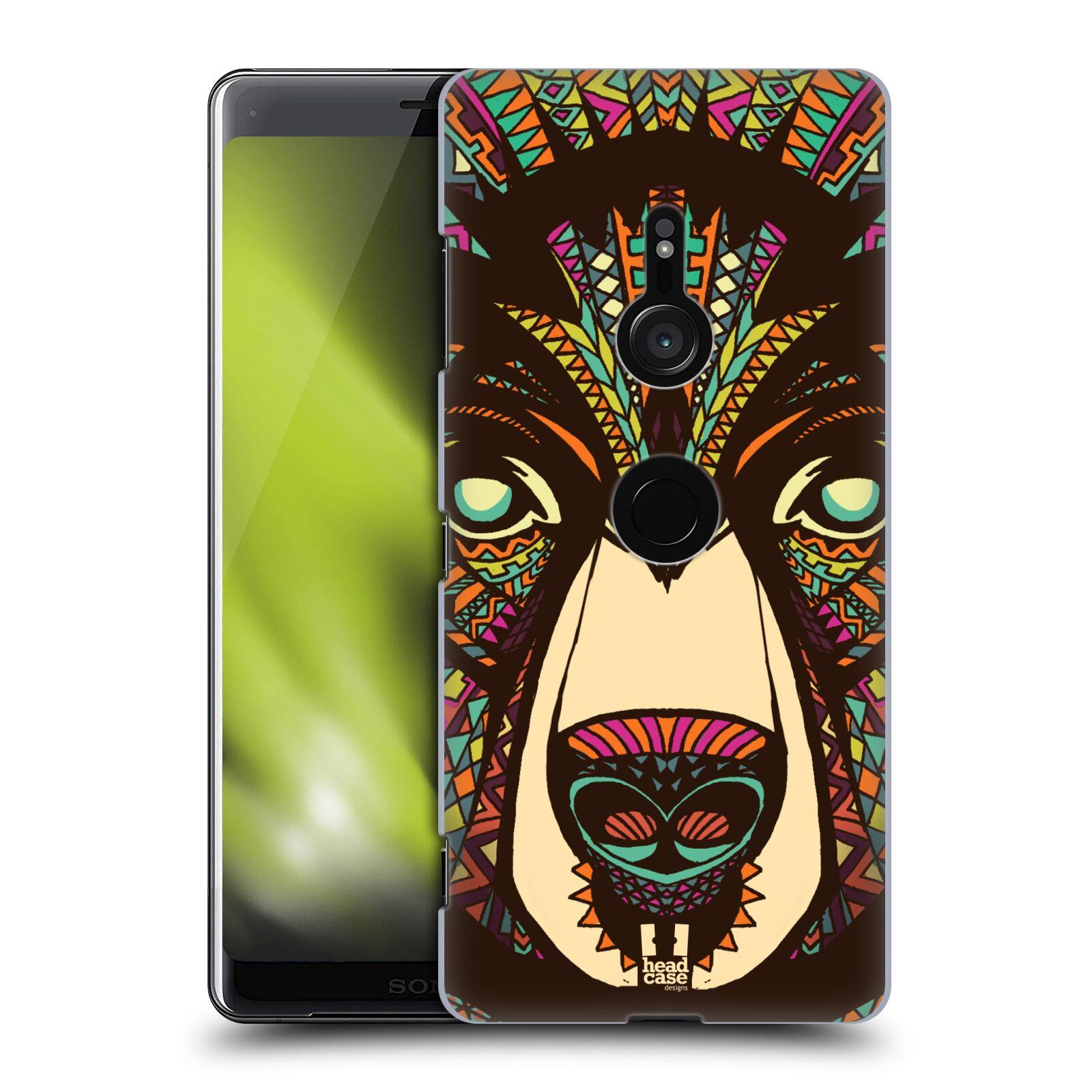 Plastové pouzdro na mobil Sony Xperia XZ3 - Head Case - AZTEC MEDVĚD