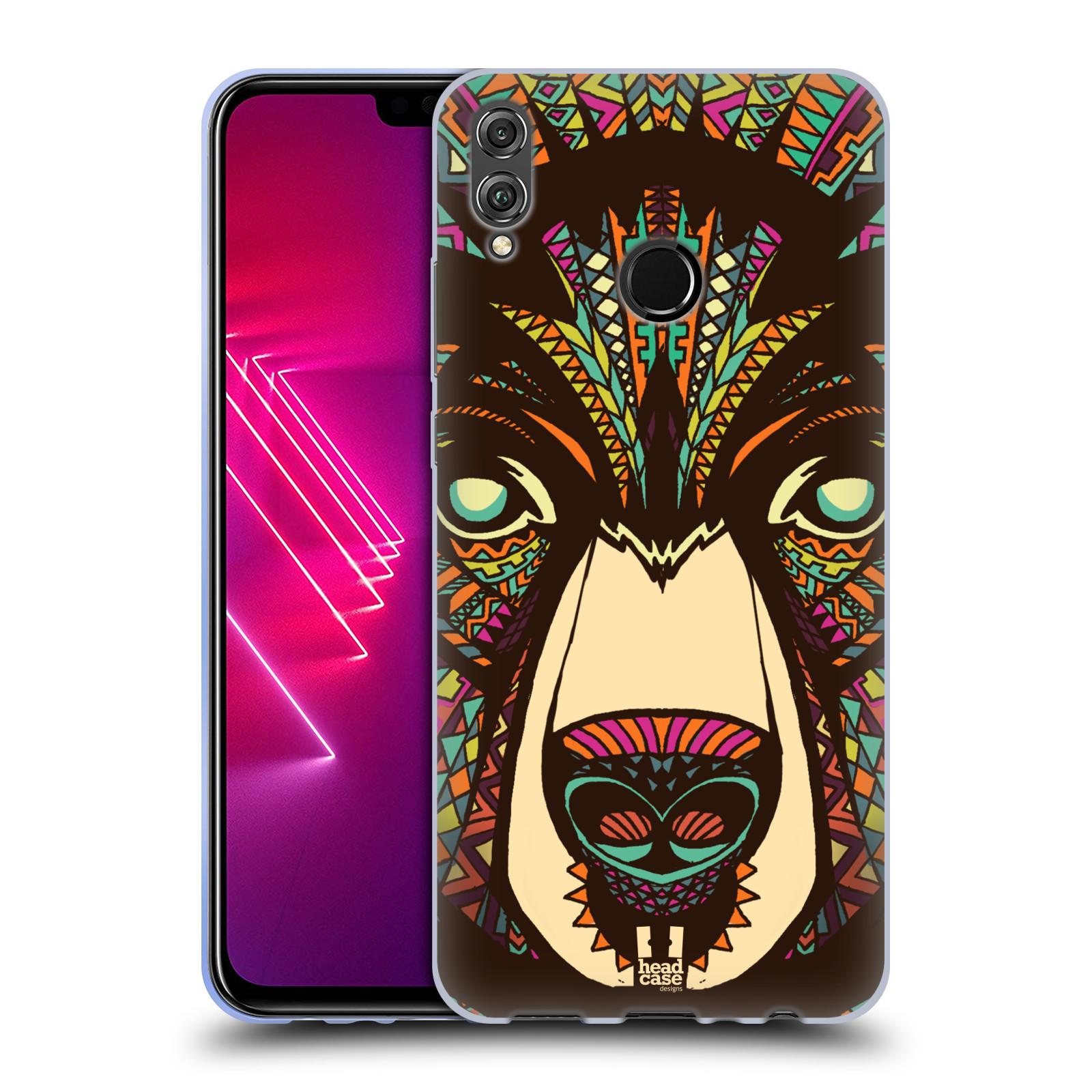 Silikonové pouzdro na mobil Honor View 10 Lite - Head Case - AZTEC MEDVĚD