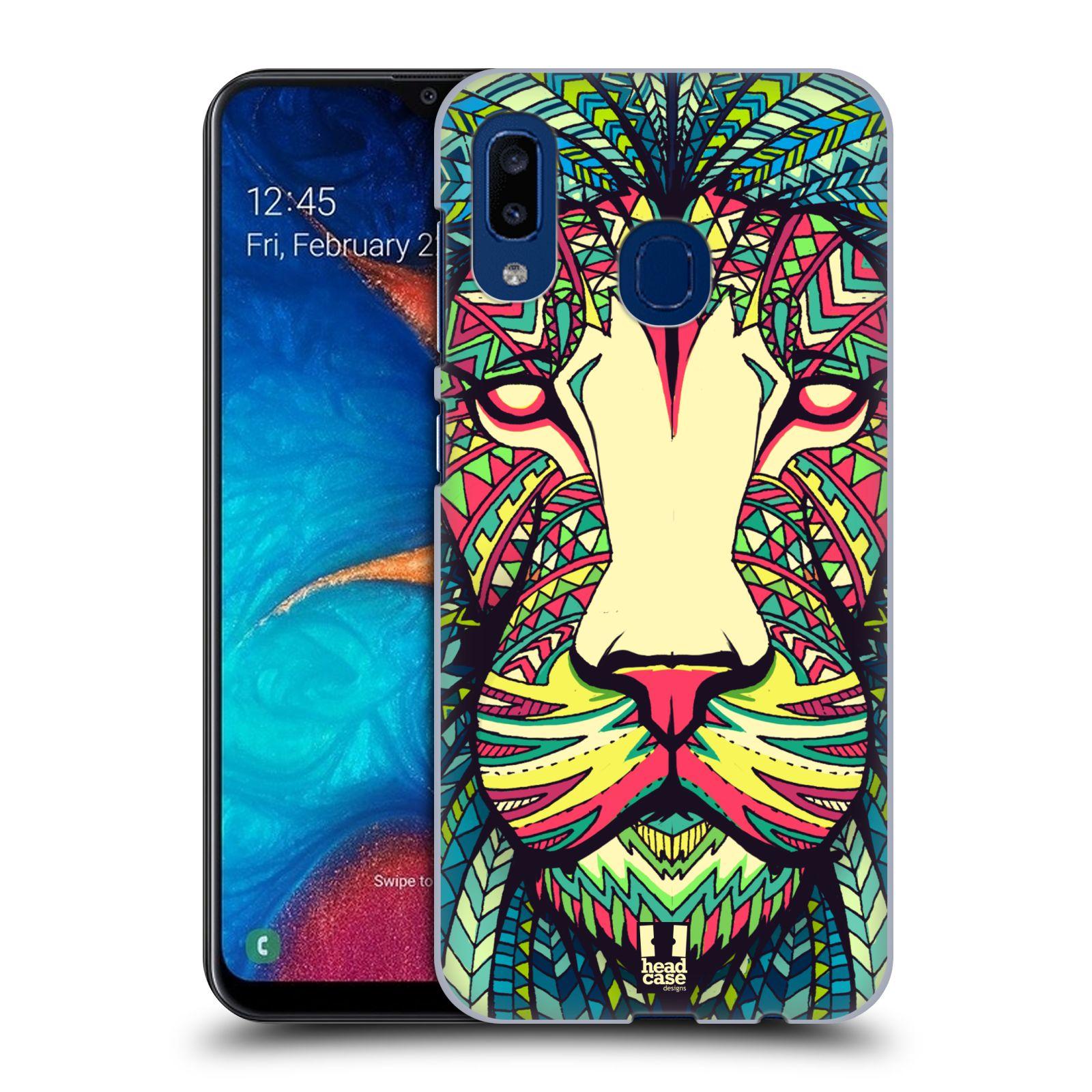 Plastové pouzdro na mobil Samsung Galaxy A20 - Head Case - AZTEC LEV