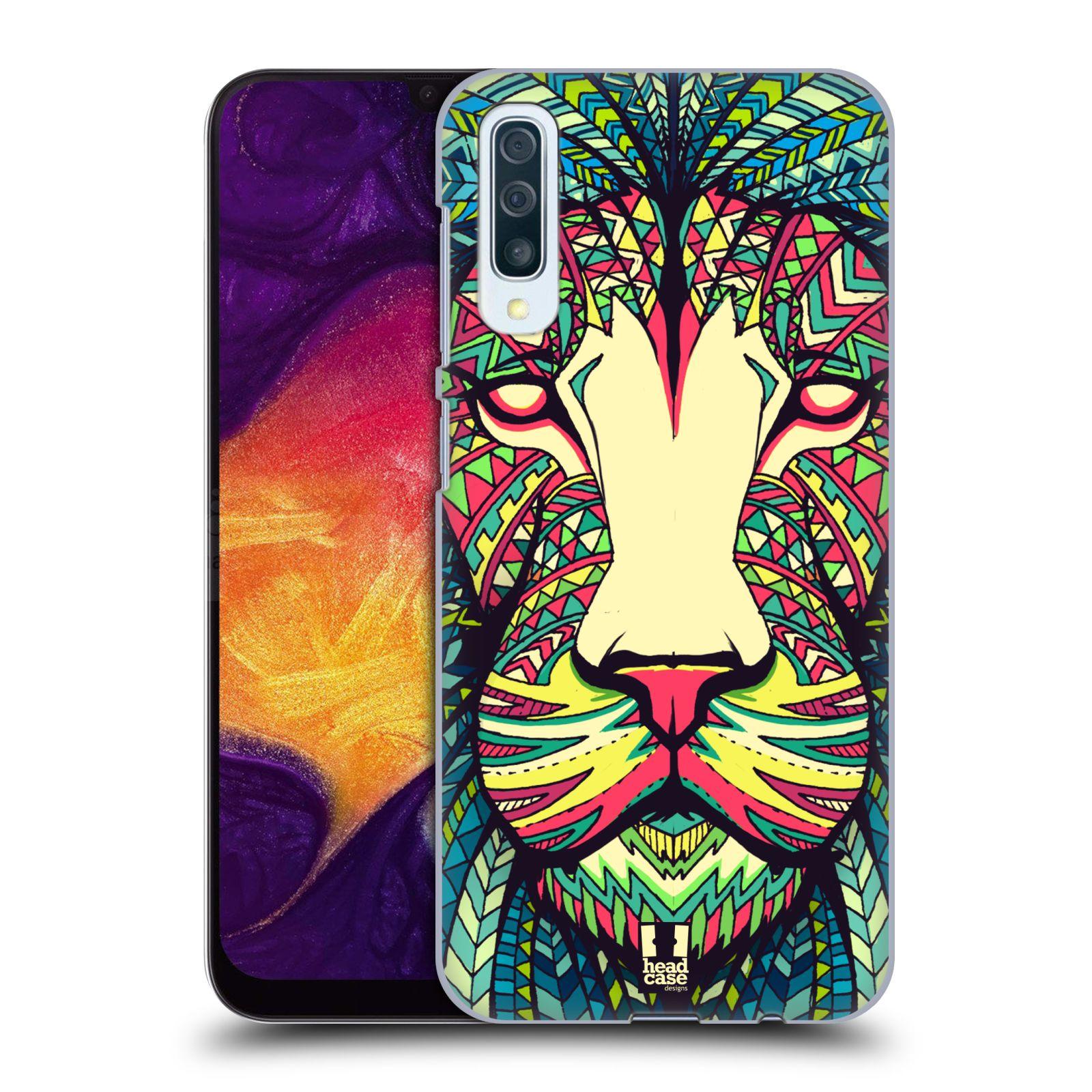 Plastové pouzdro na mobil Samsung Galaxy A50 - Head Case - AZTEC LEV