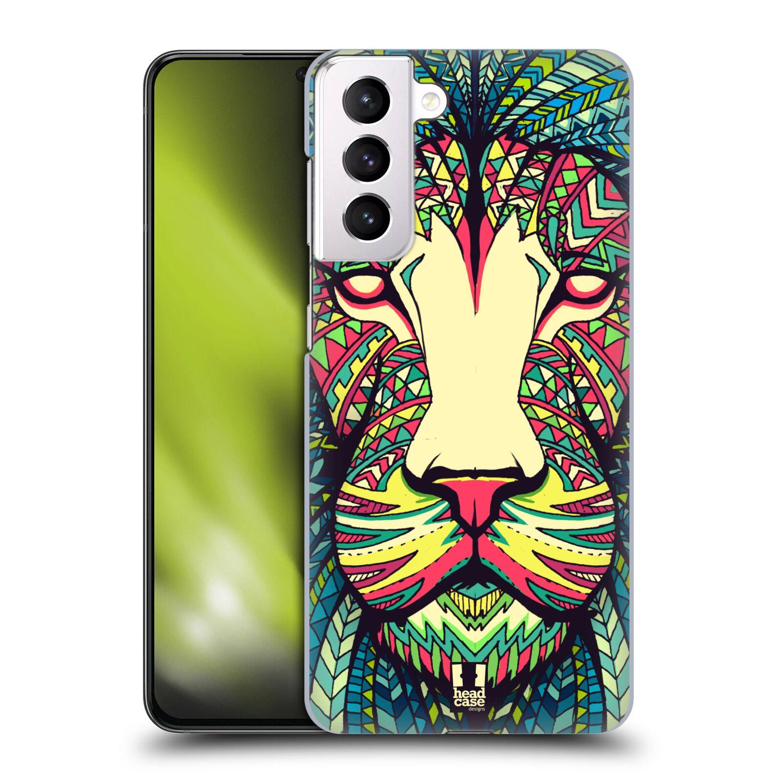 Plastové pouzdro na mobil Samsung Galaxy S21 Plus 5G - Head Case - AZTEC LEV
