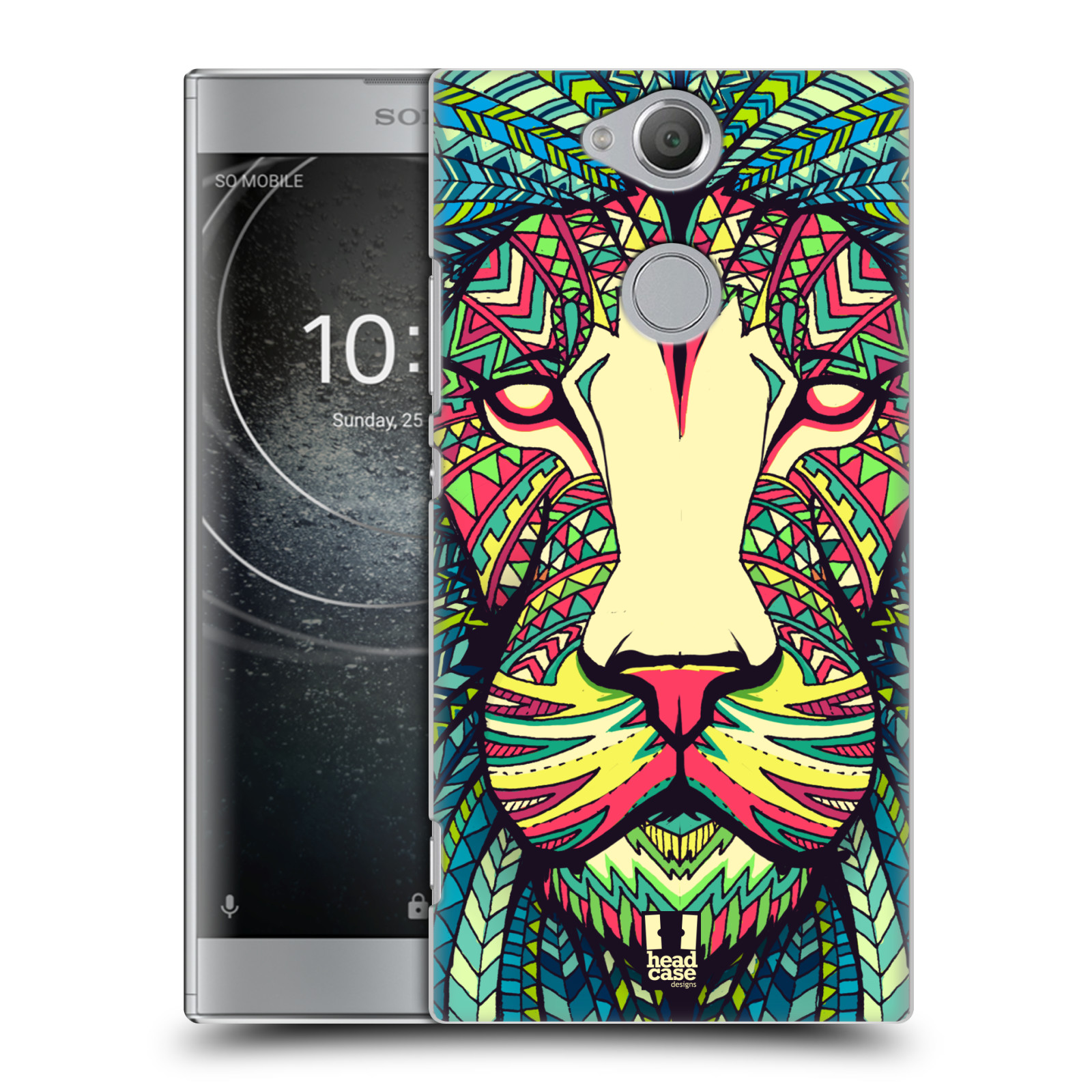 Plastové pouzdro na mobil Sony Xperia XA2 - Head Case - AZTEC LEV