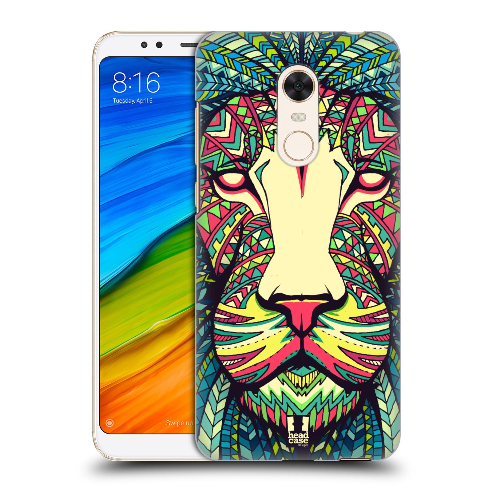 Plastové pouzdro na mobil Xiaomi Redmi 5 Plus - Head Case - AZTEC LEV