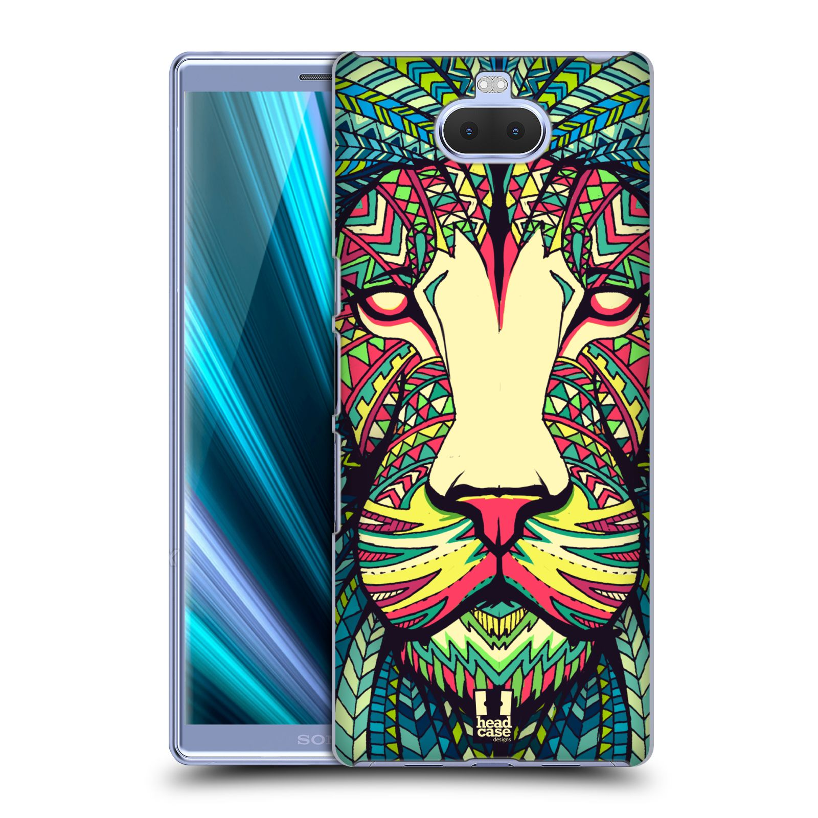 Plastové pouzdro na mobil Sony Xperia 10 - Head Case - AZTEC LEV