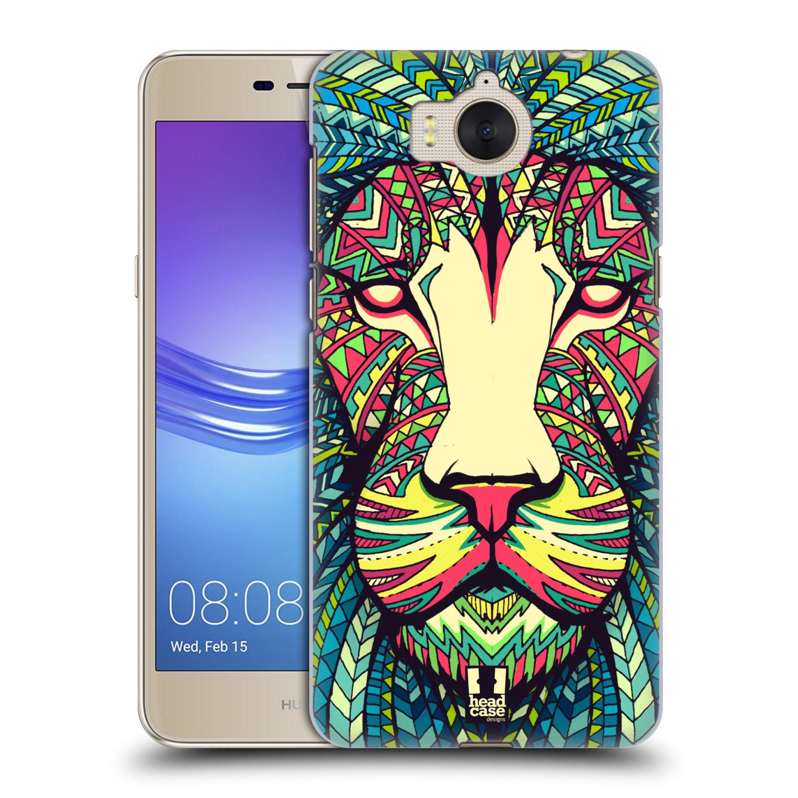 Plastové pouzdro na mobil Huawei Y6 2017 - Head Case - AZTEC LEV